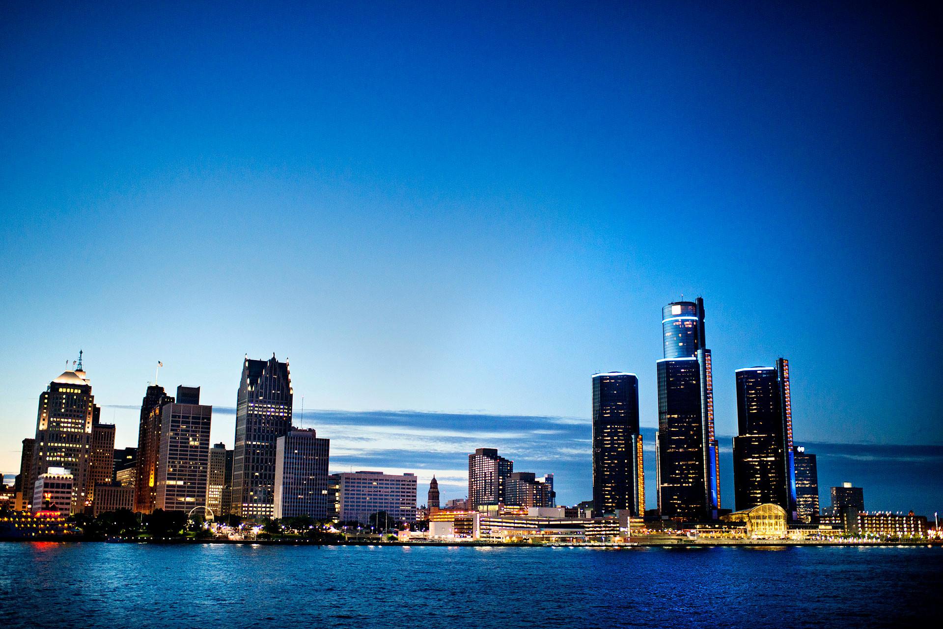 Res: 1920x1282, ... Lake Michigan Detroit Fresh Landscape Graphy – River View Of Downtown  Detroit Michigan ...
