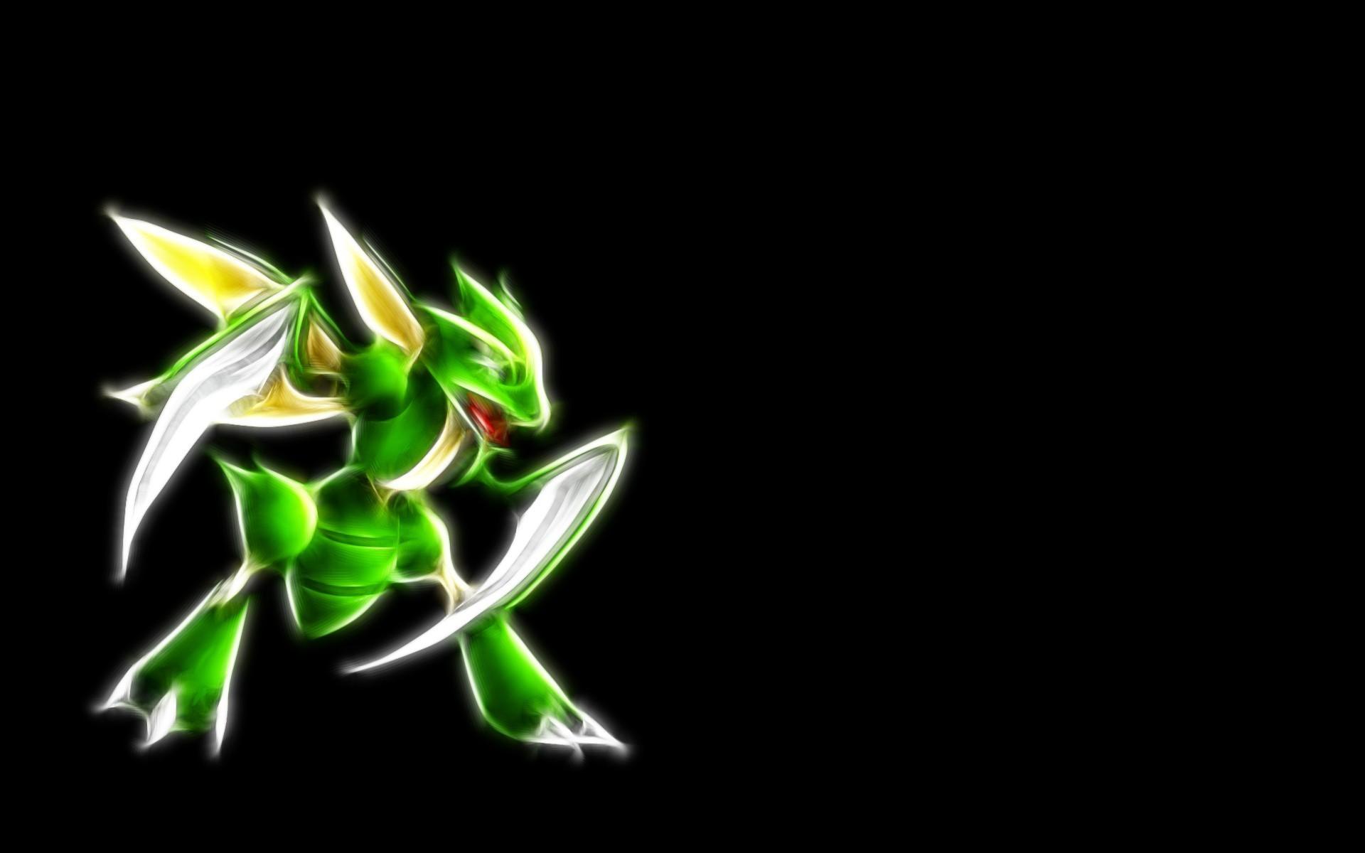 Res: 1920x1200, Scyther - Pokemon wallpaper