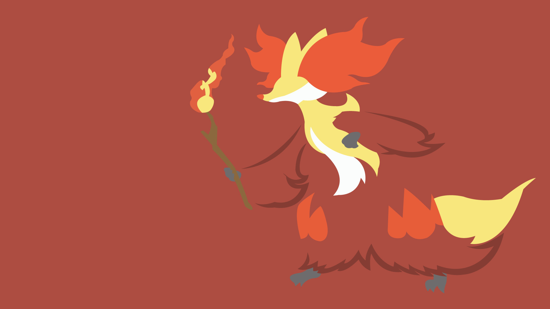 Res: 1920x1080, Delphox by LimeCatMastr