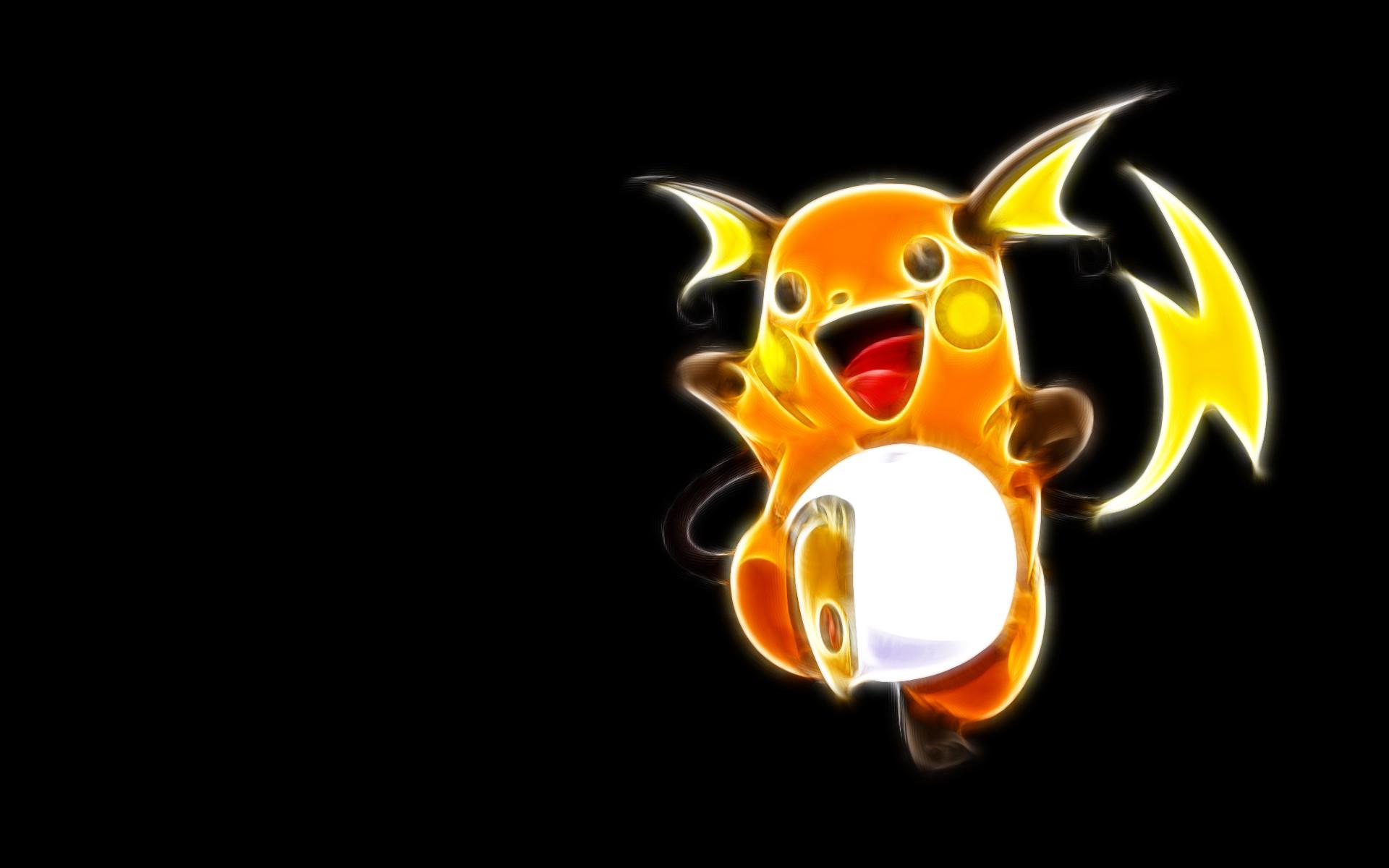 Res: 1920x1200, pokemon wallpaper raichu