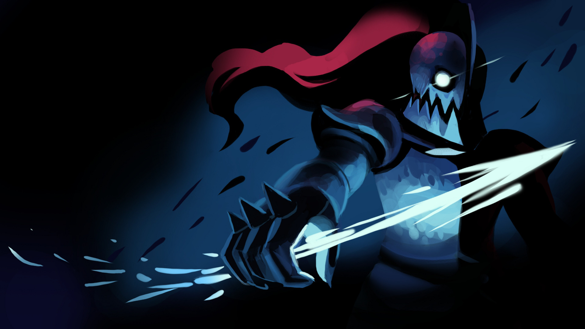 Res: 1920x1080, UNDERTALE-The Game images Undyne Wallpaper HD wallpaper and background  photos