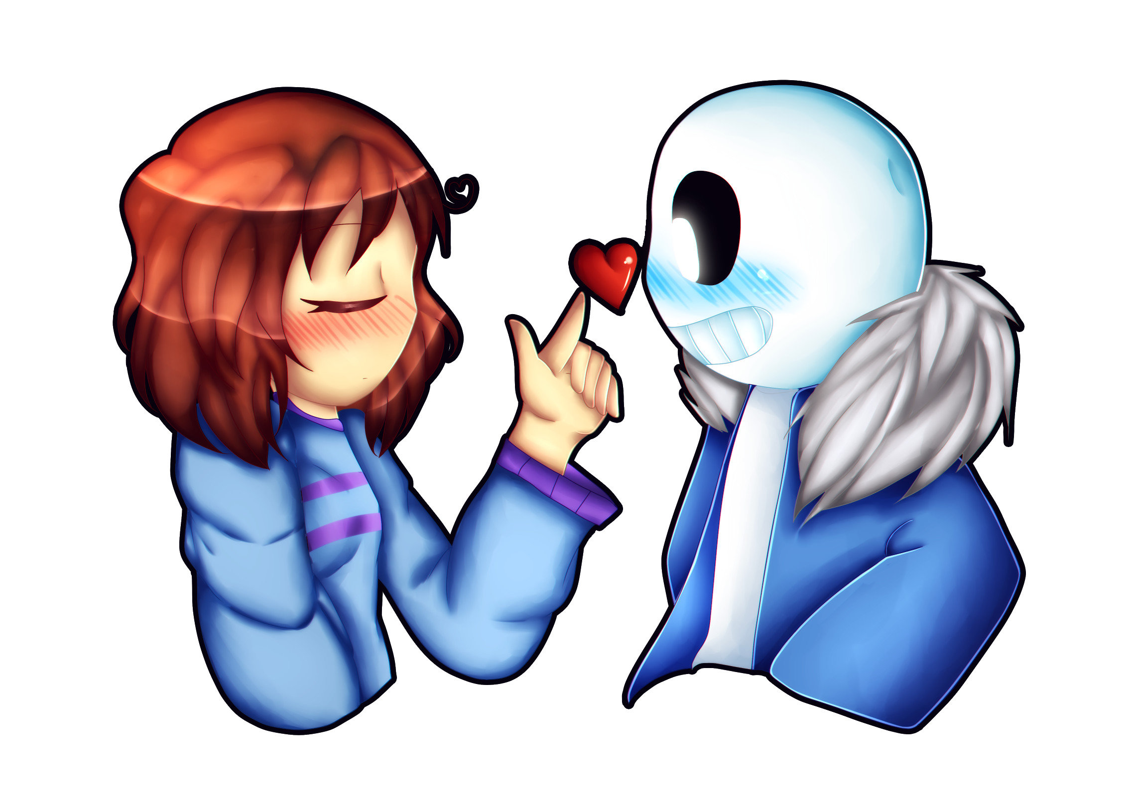 Res: 2275x1603, Rq Gift Sans X Frisk I M Not Into Undertale By