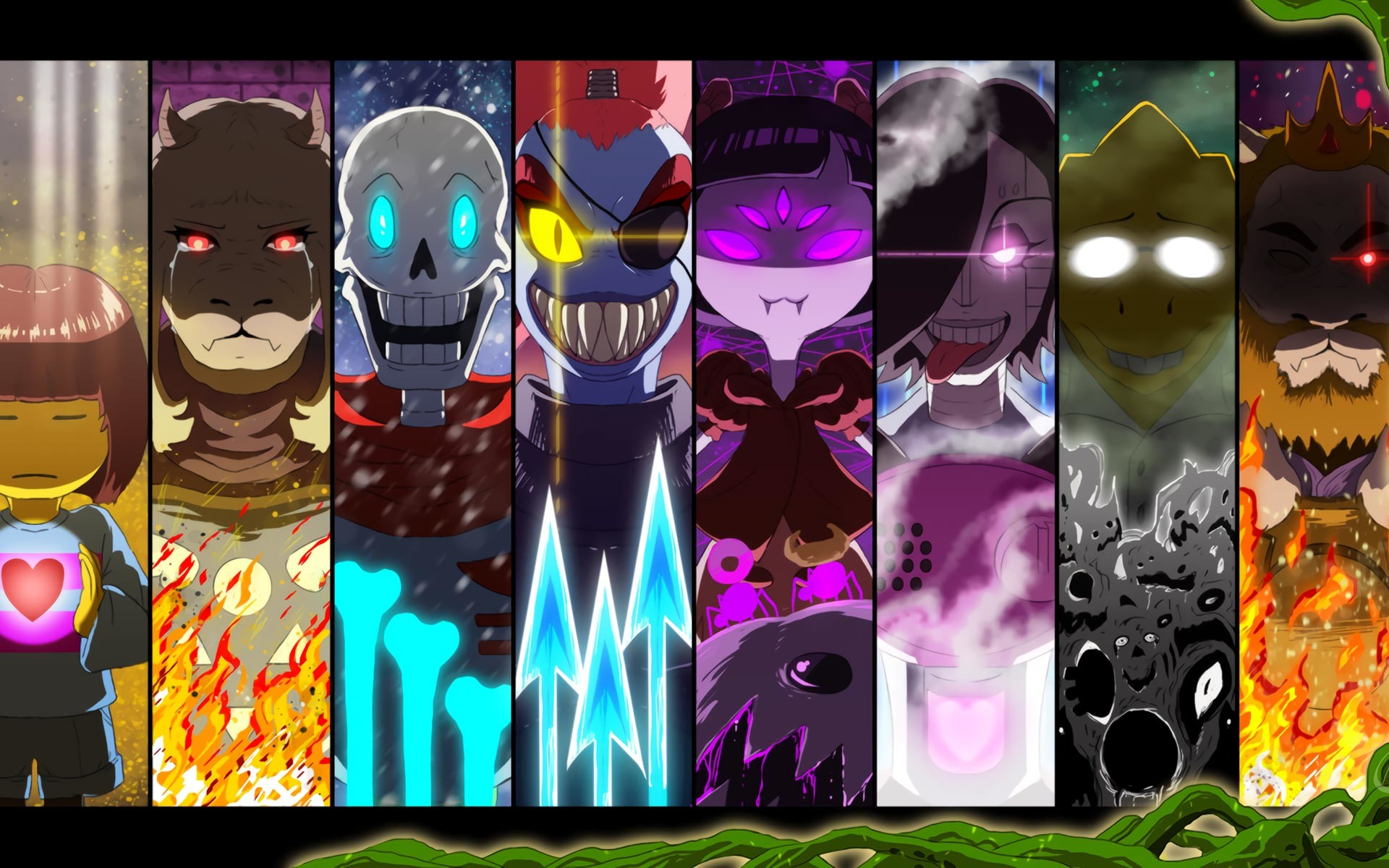 Res: 1920x1200, ... Undertale HD Wallpapers 10 ...