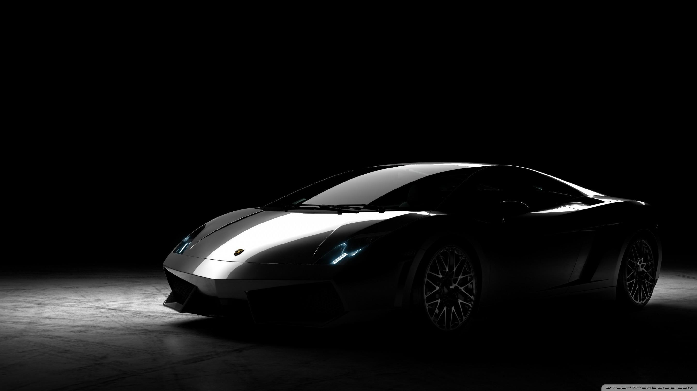 Res: 2880x1620, ... Lamborghini Gallardo Black HD HD Wallpaper