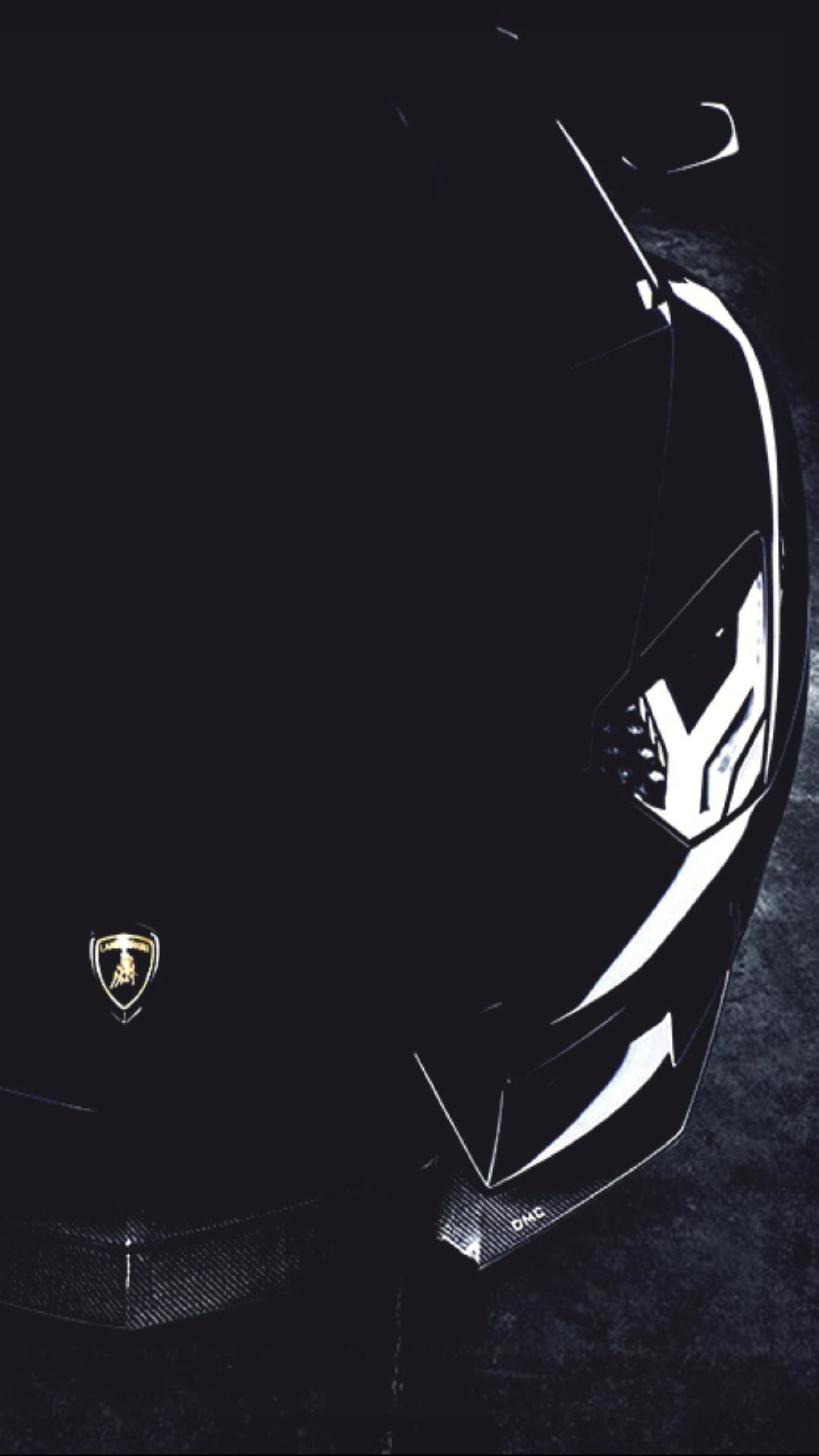 Res: 1080x1920, A Lamborghini In Black Mobile Hd Wallpaper High Quality For Phones Vactual