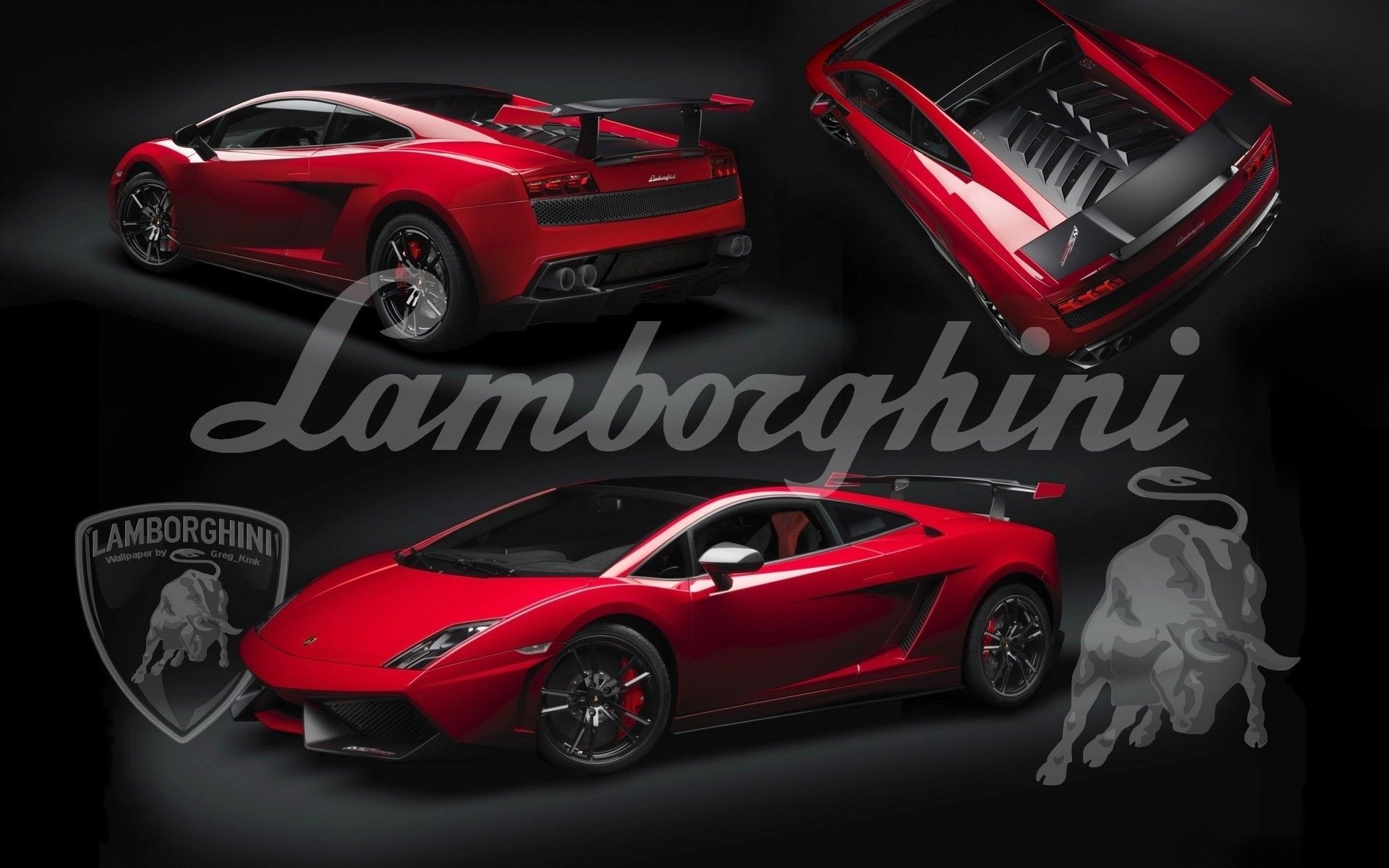 Res: 1920x1200, Black And Red Lamborghini Wallpaper With Backgrounds For Computer Hd Pics