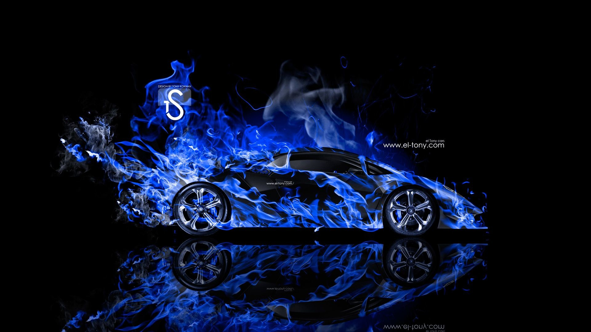 Res: 1920x1080, Black And Blue Lamborghini Wallpaper 1 Free Hd Wallpaper