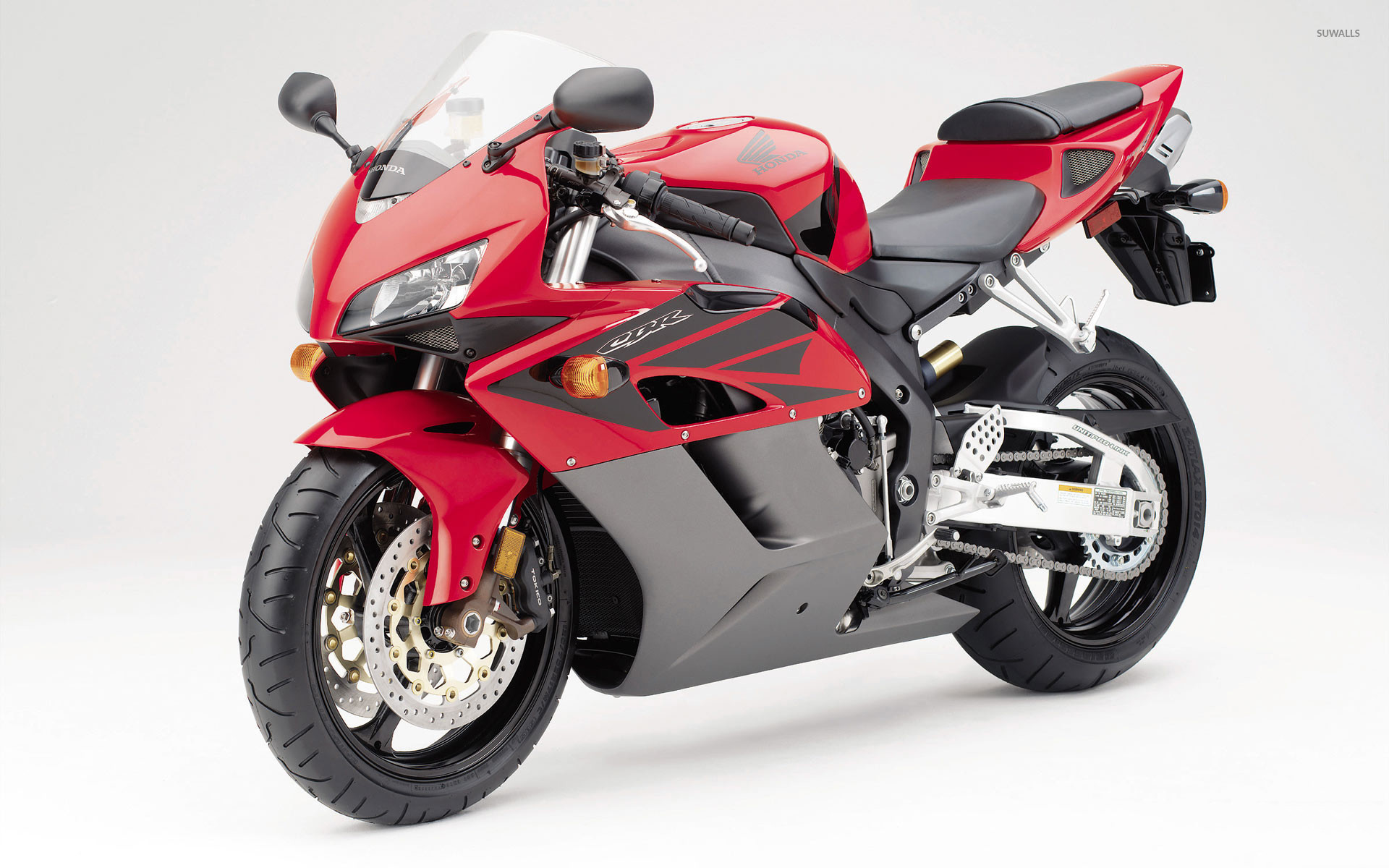 Res: 1920x1200, Red Honda CBR1000RR front side view wallpaper