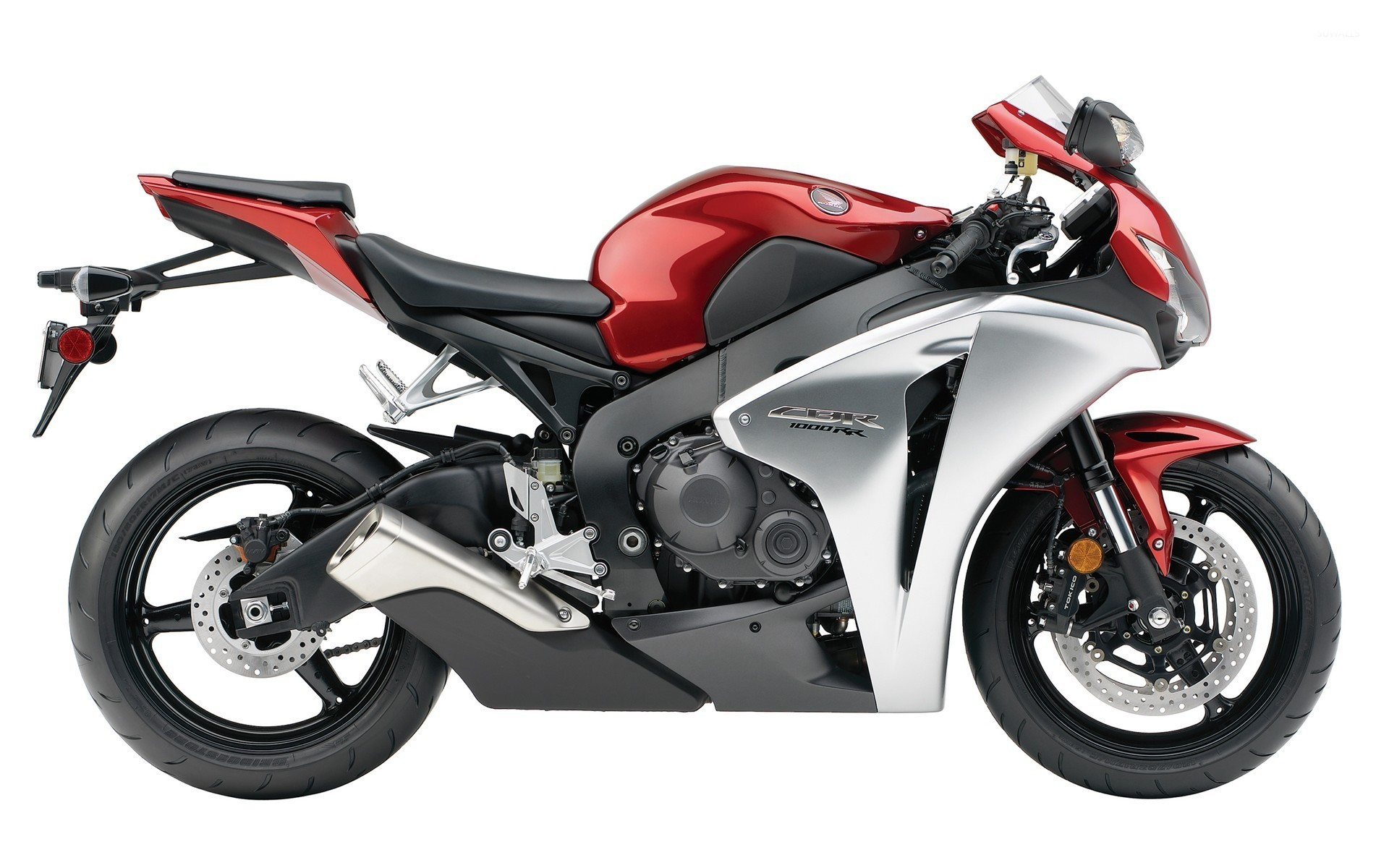 Res: 1920x1200, Red and silver Honda CBR1000RR wallpaper