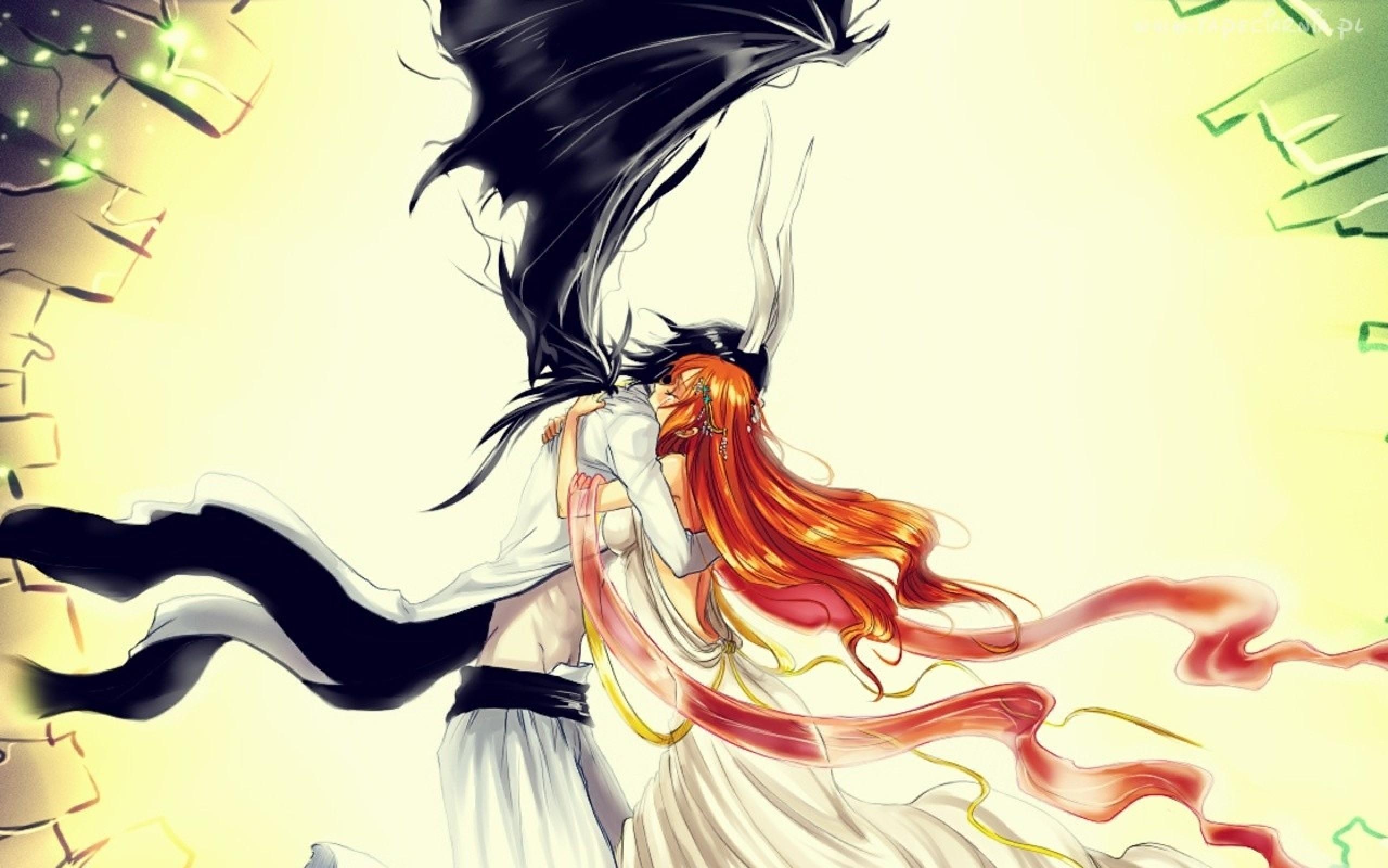 Res: 2560x1600, Anime - Bleach Anime Orihime Inoue Ulquiorra Cifer Wallpaper