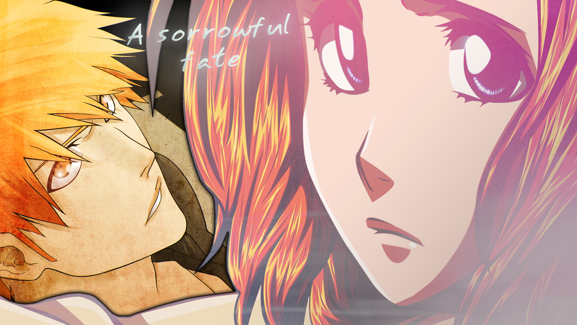 Res: 1920x1080, Ichigo and Orihime wallpaper by SchneeTsurara Ichigo and Orihime wallpaper  by SchneeTsurara