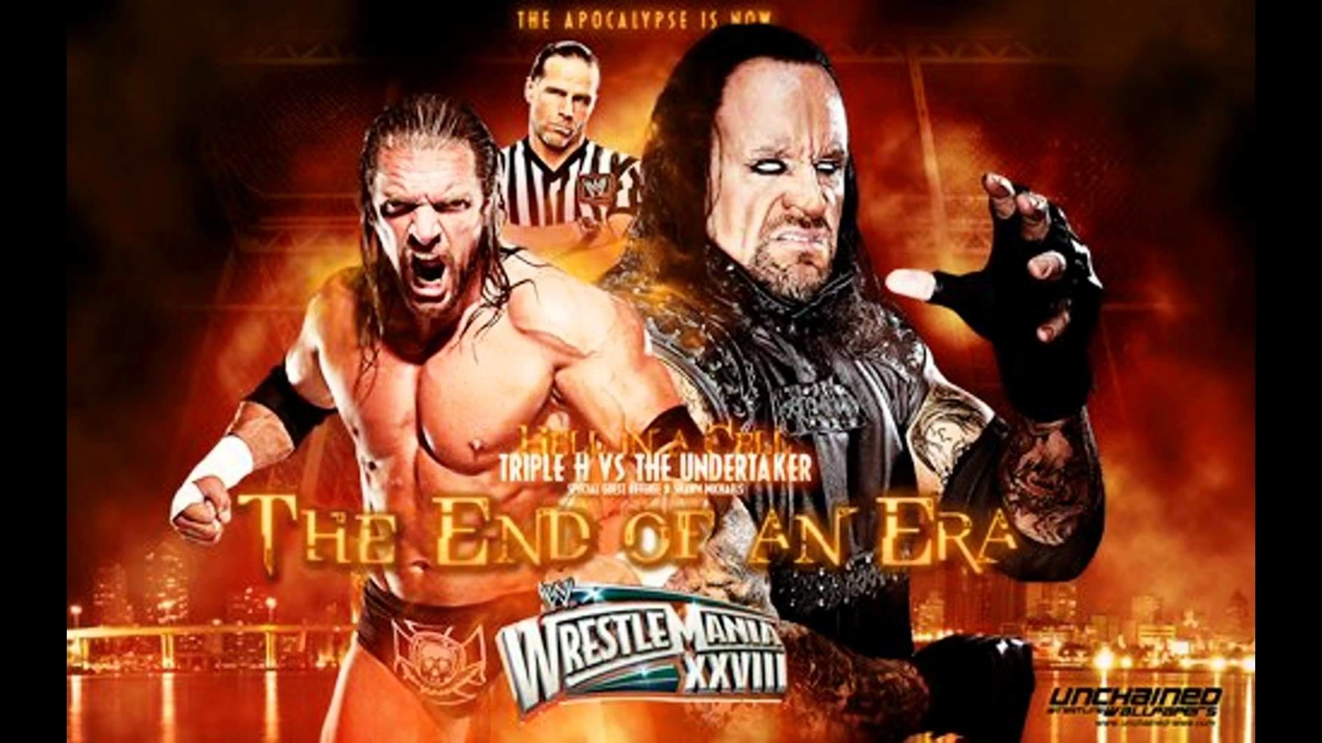 Res: 1920x1080, Undertaker vs Triple H (Hell in a Cell) Memory remains - YouTube