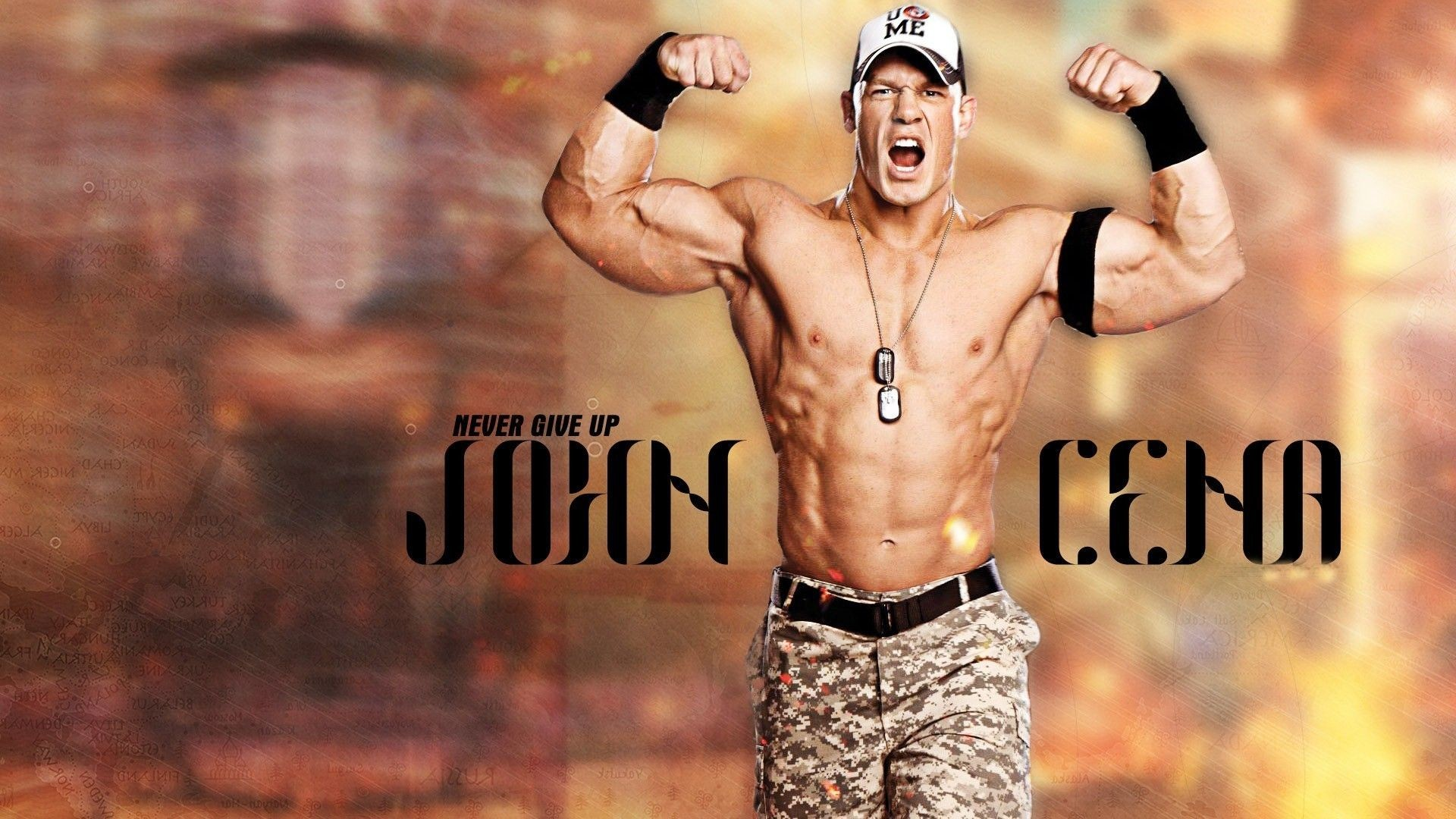 Res: 1920x1080, WWE Wallpapers Free Download HD New Rock, John Cena, Triple H Images