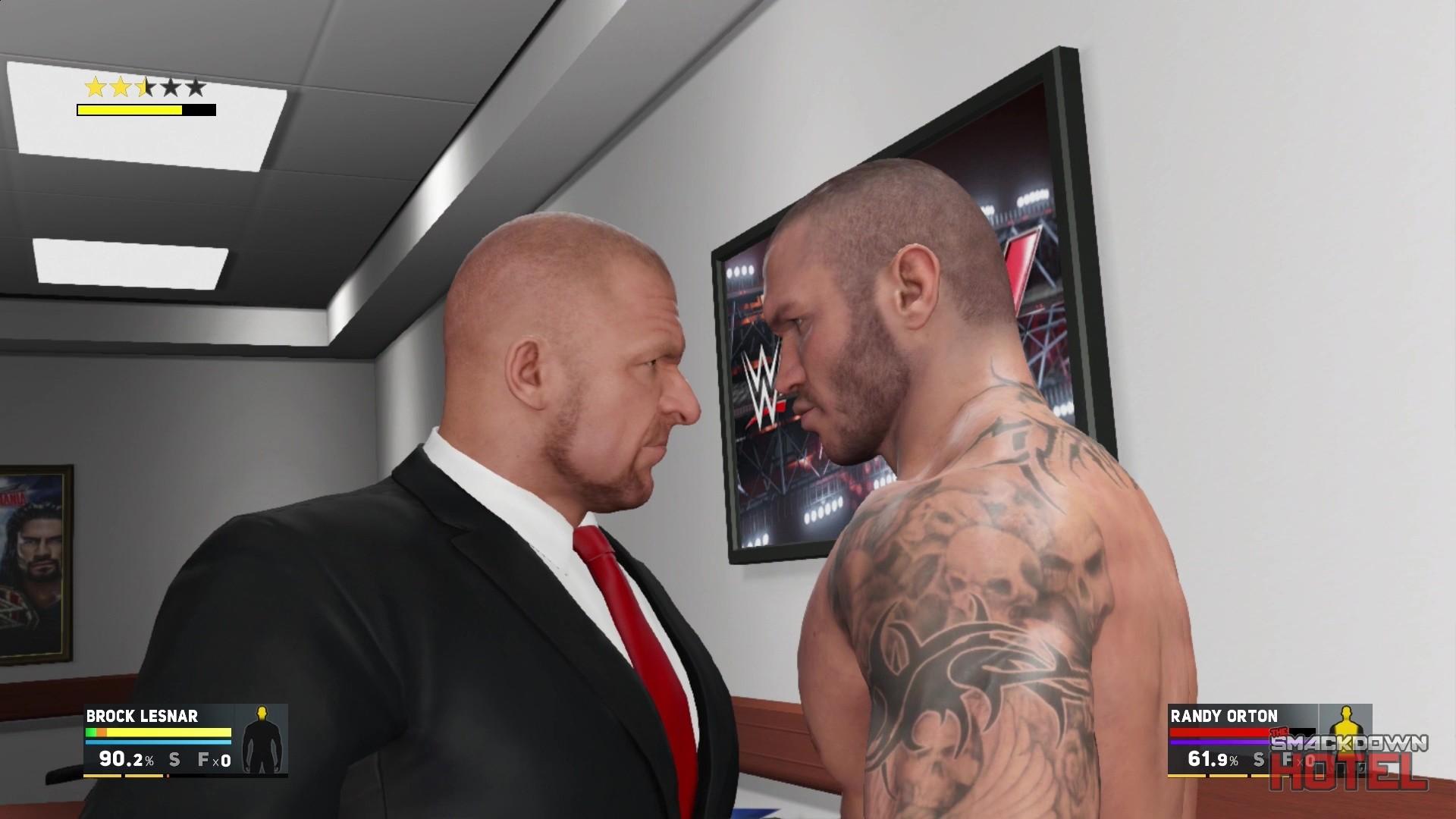 Res: 1920x1080, WWE2K17-Trailer-Triple-H-Entrance ...
