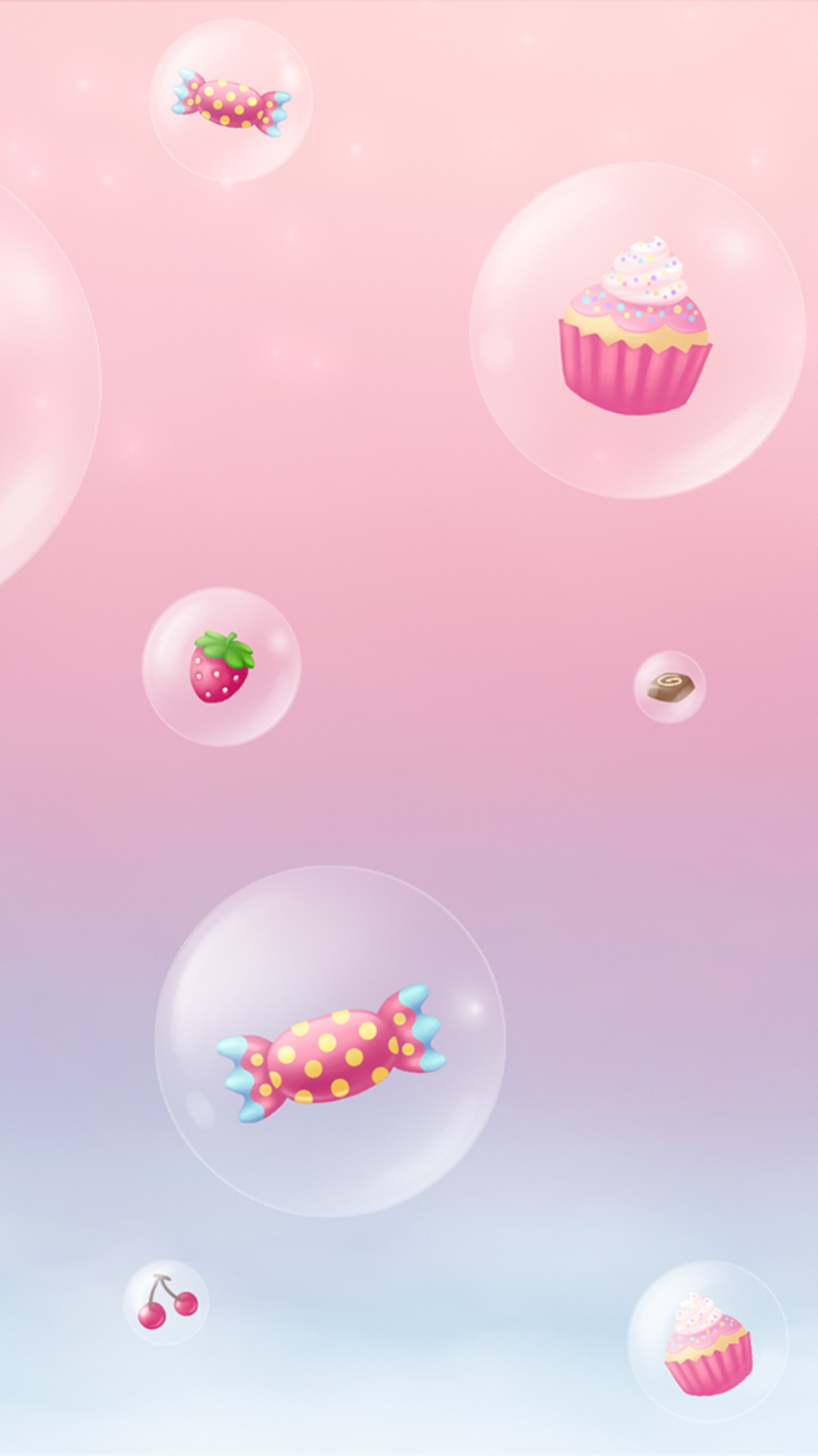 Res: 1080x1920, Girly cute iPhone6s wallpaper 💕: cupcakes