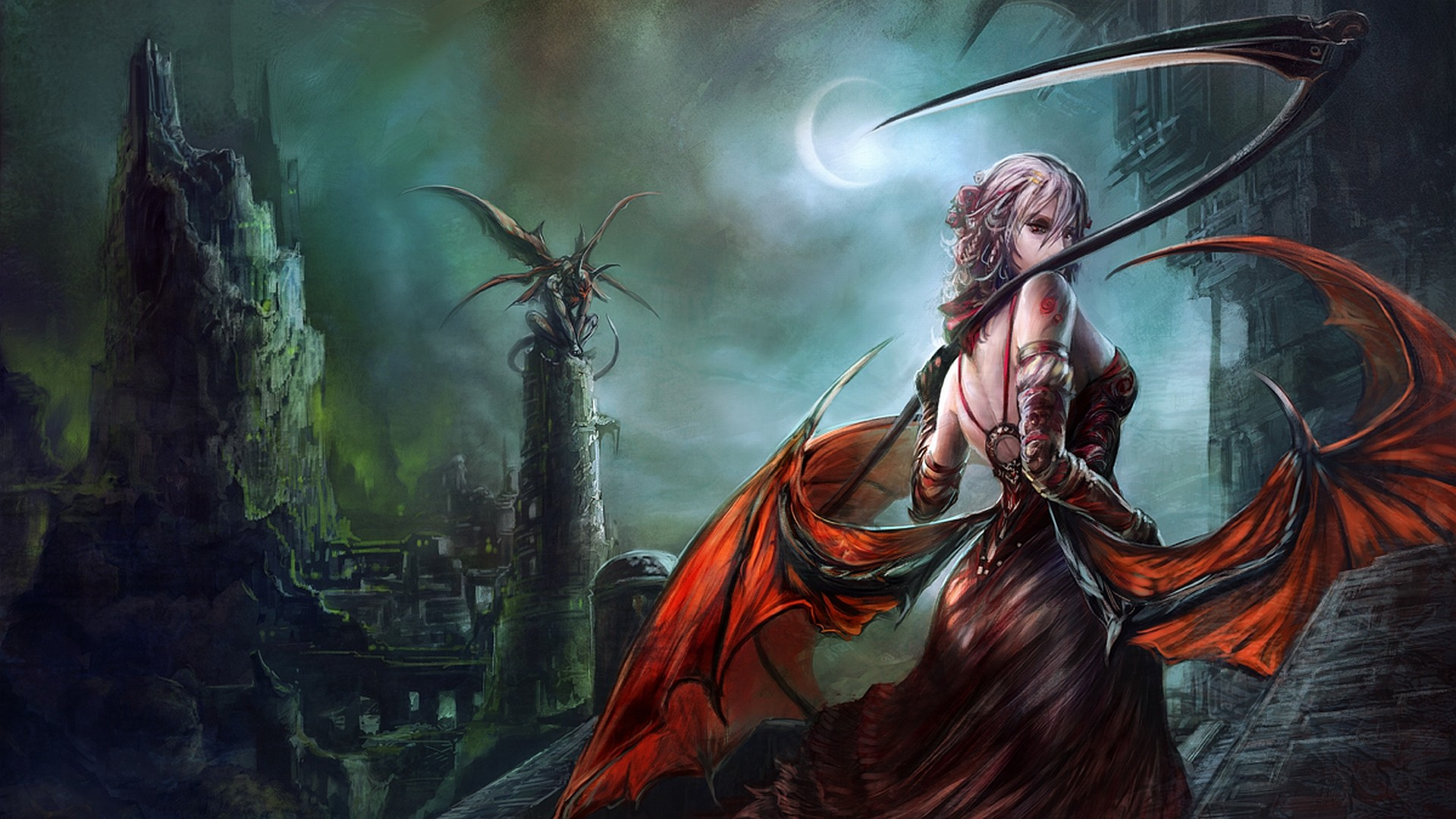 Res: 1920x1080, Fantasy - Women Warrior Wallpaper
