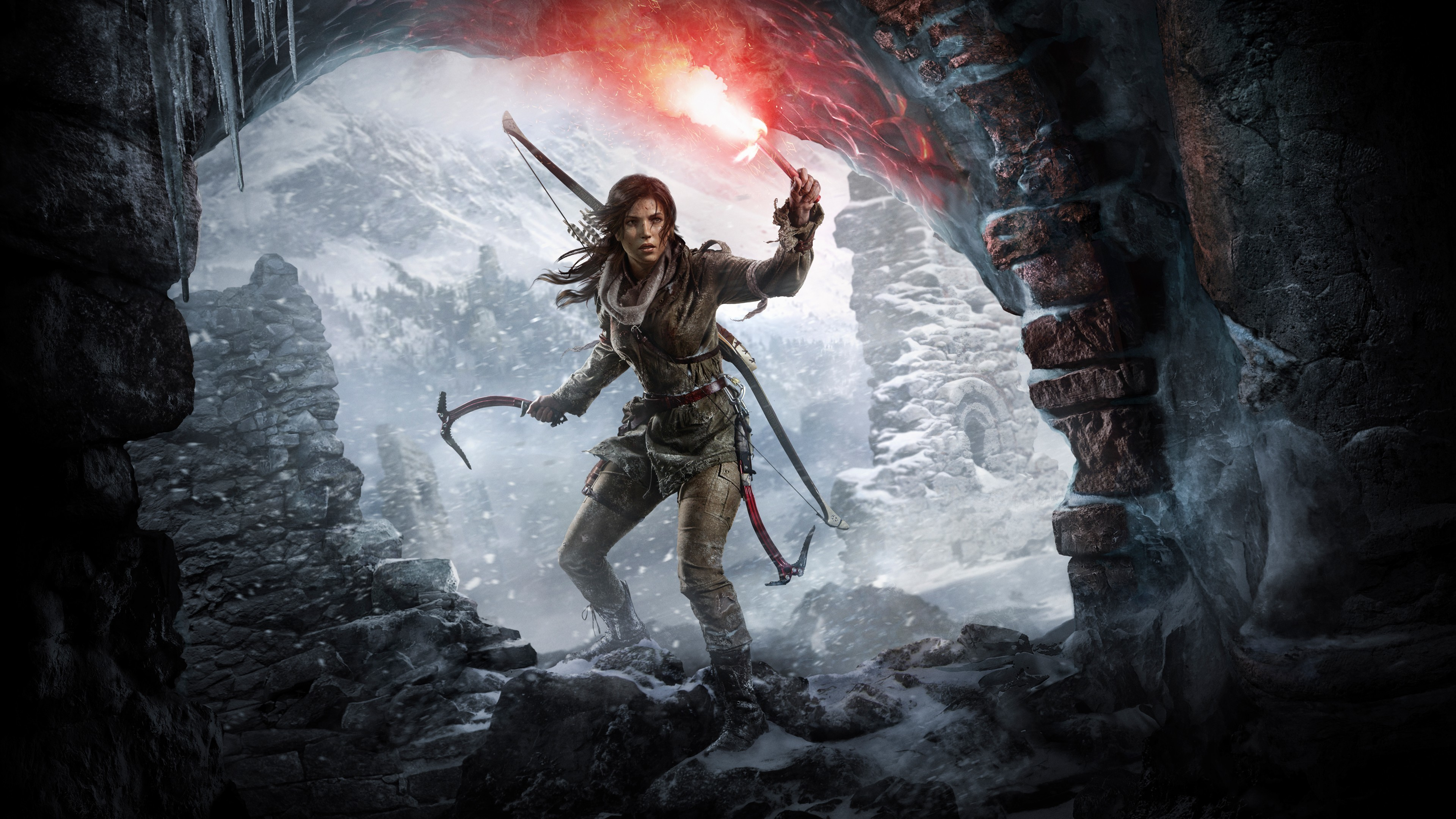 Res: 3840x2160,  139 Rise of the Tomb Raider HD Wallpapers | Backgrounds -  Wallpaper Abyss