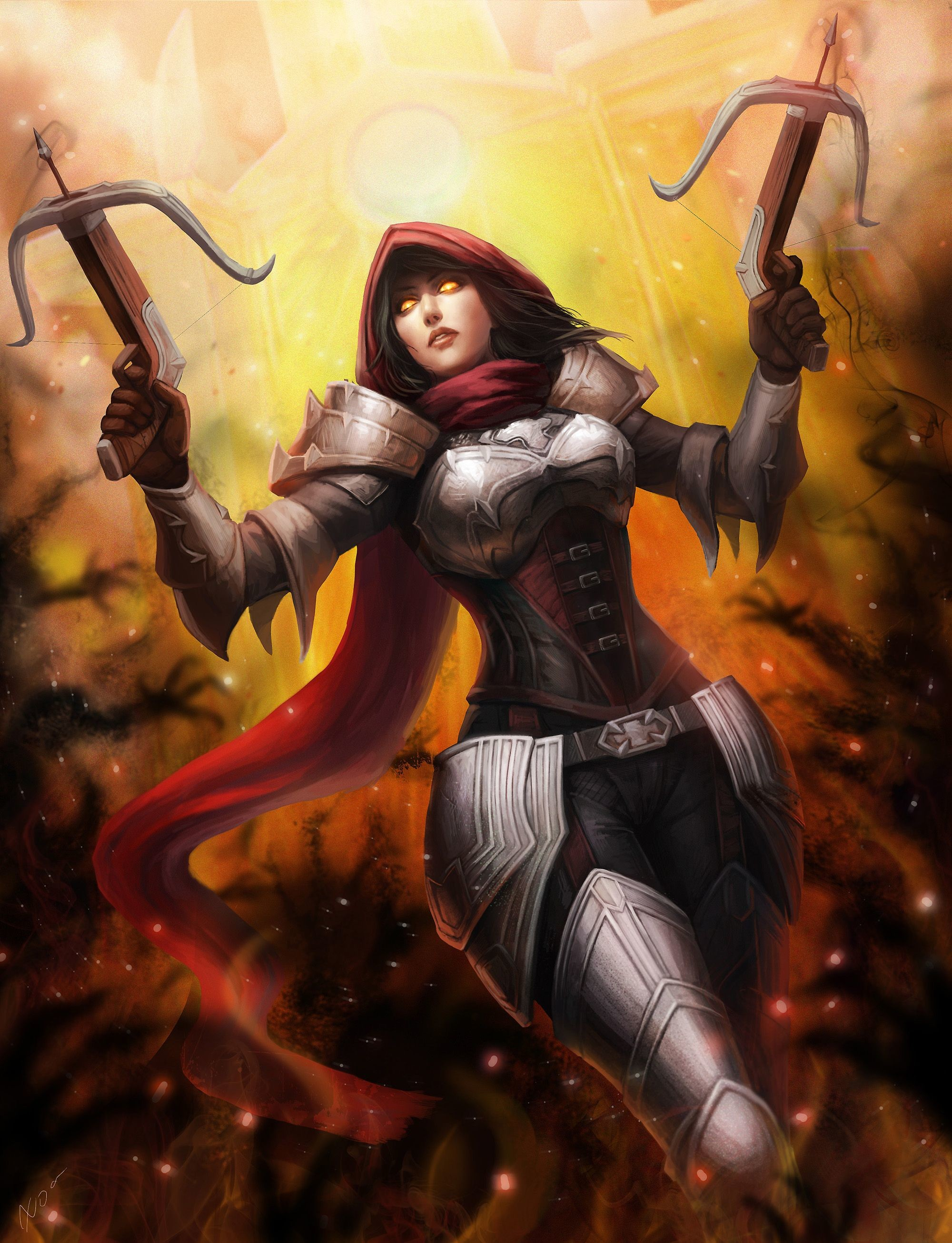 Res: 2000x2612, Diablo 3 :Demon Hunter