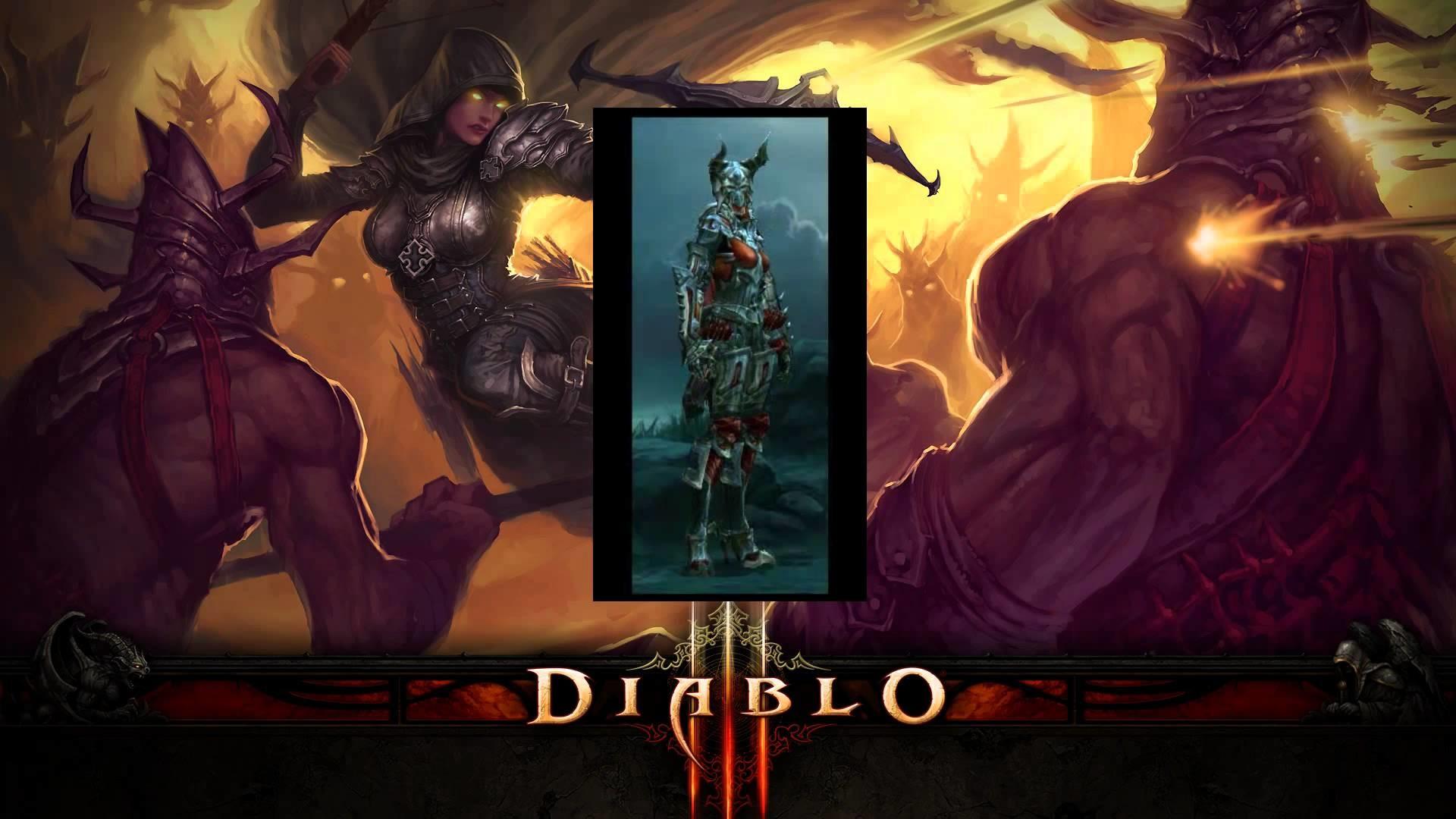 Res: 1920x1080, Diablo 3 Demon Hunter Armor Tiers 2-16 (Male & Female)