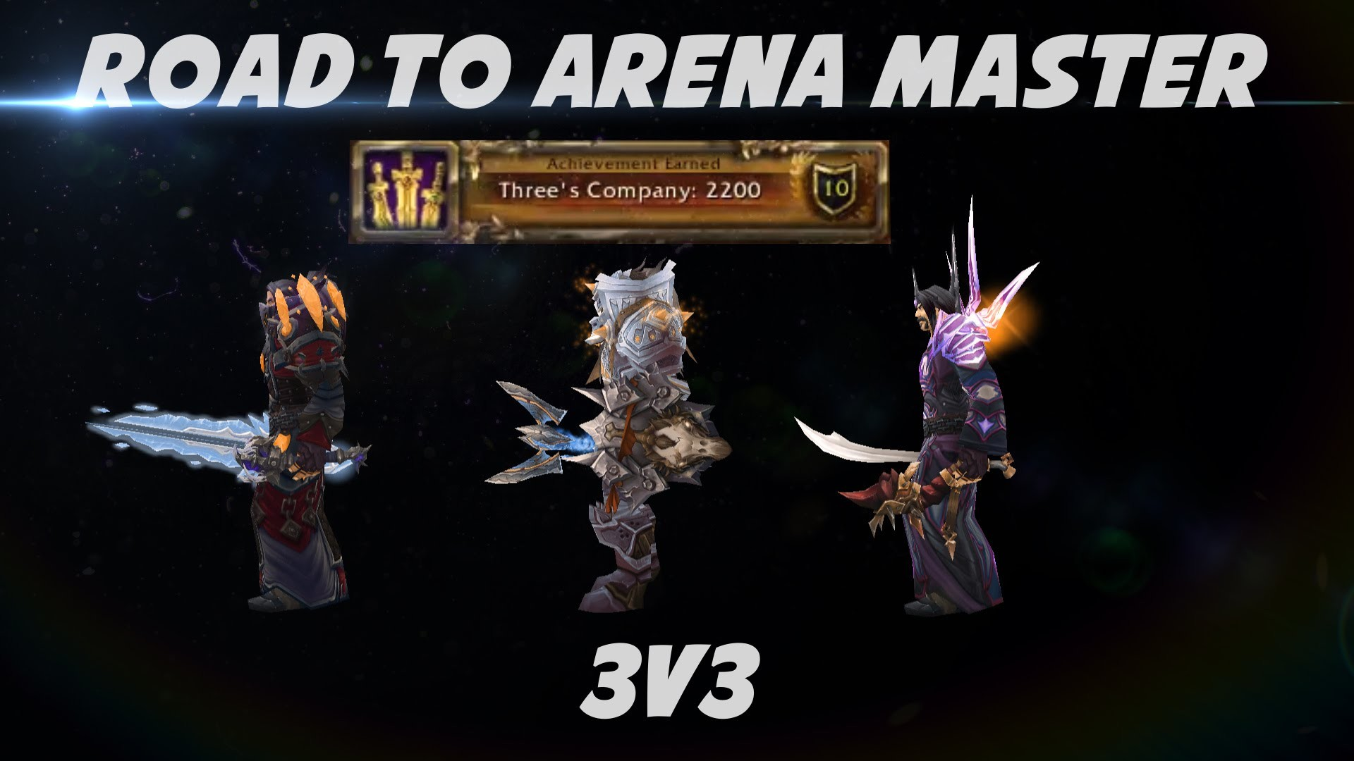 Res: 1920x1080, Road to Arena Master: 3v3 Double Mage / Holy Paladin 5.4