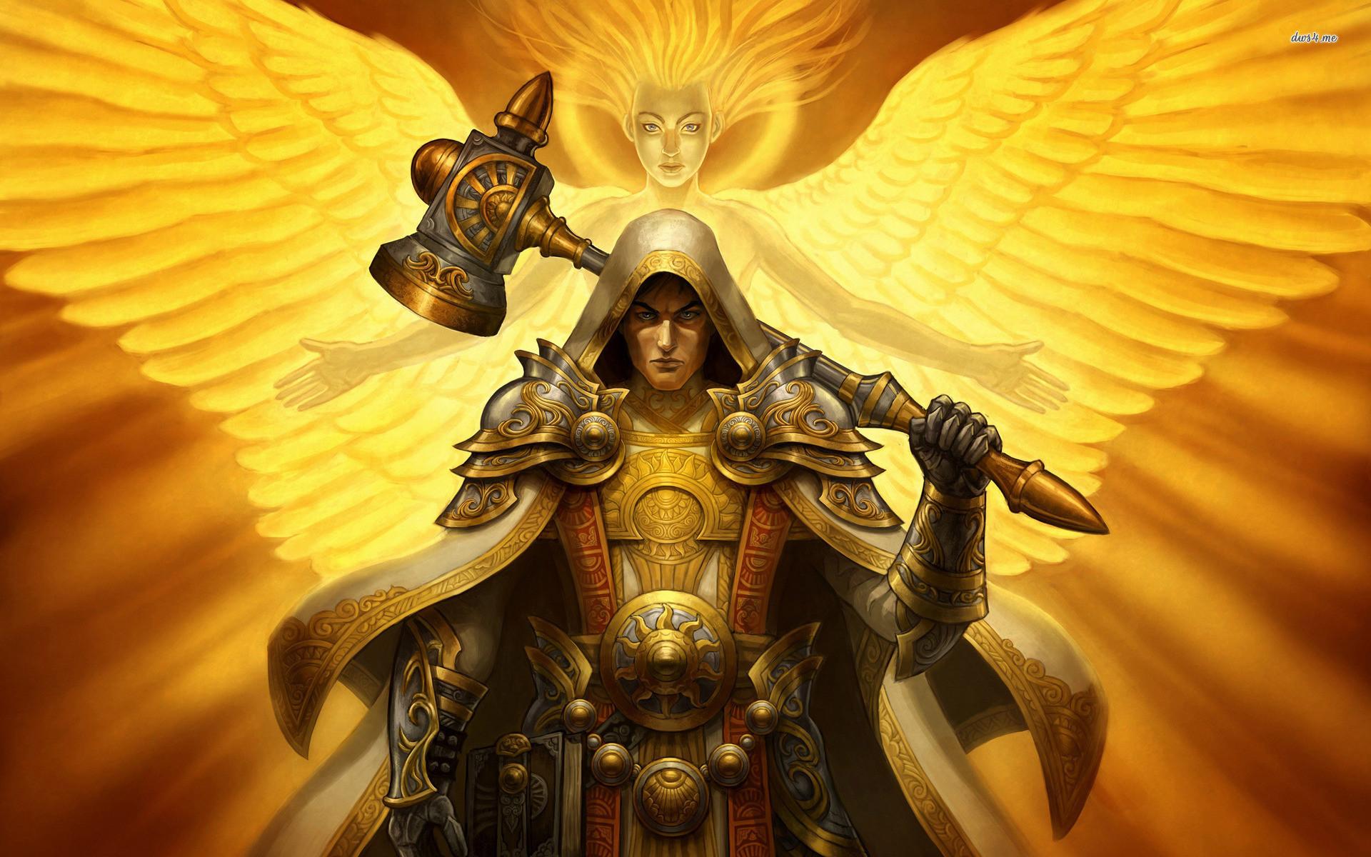 Res: 1920x1200, ... Paladin - World of Warcraft wallpaper  ...