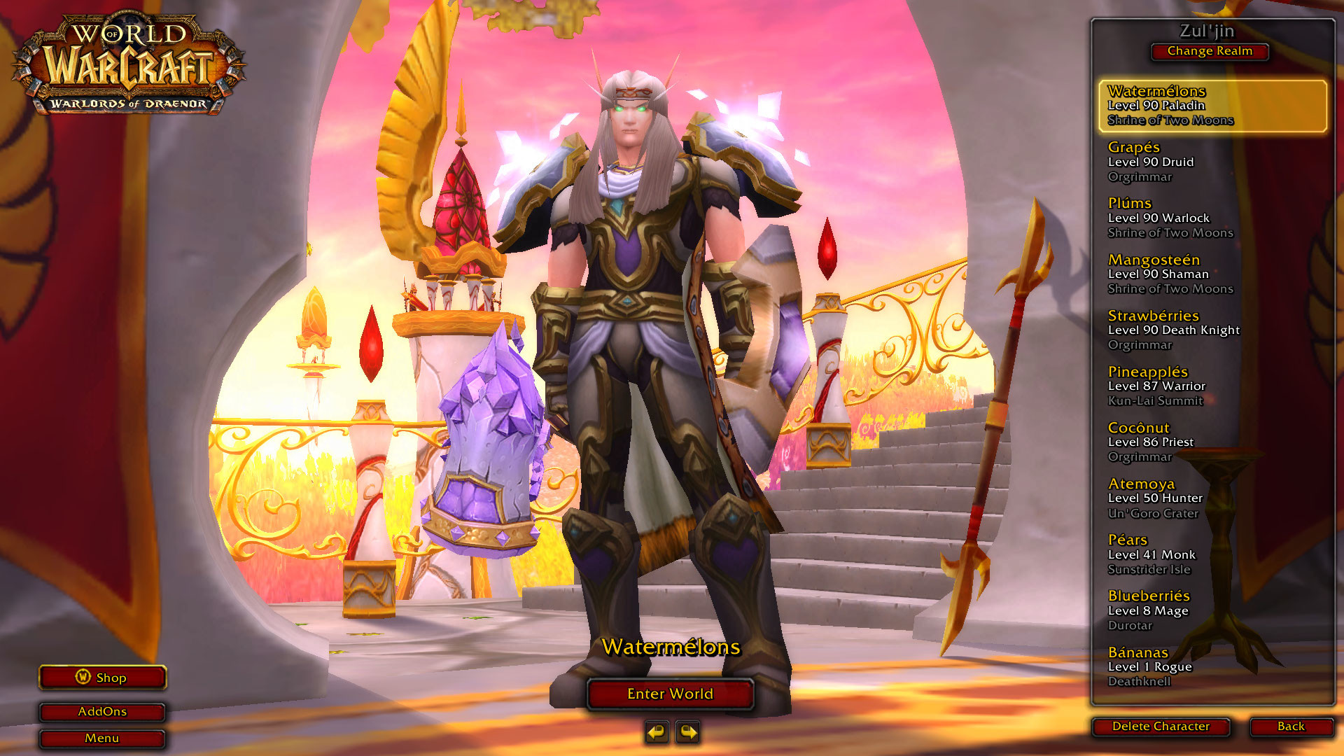 Res: 1920x1080, PlateNew Holy Paladin transmog, not sure how I feel.