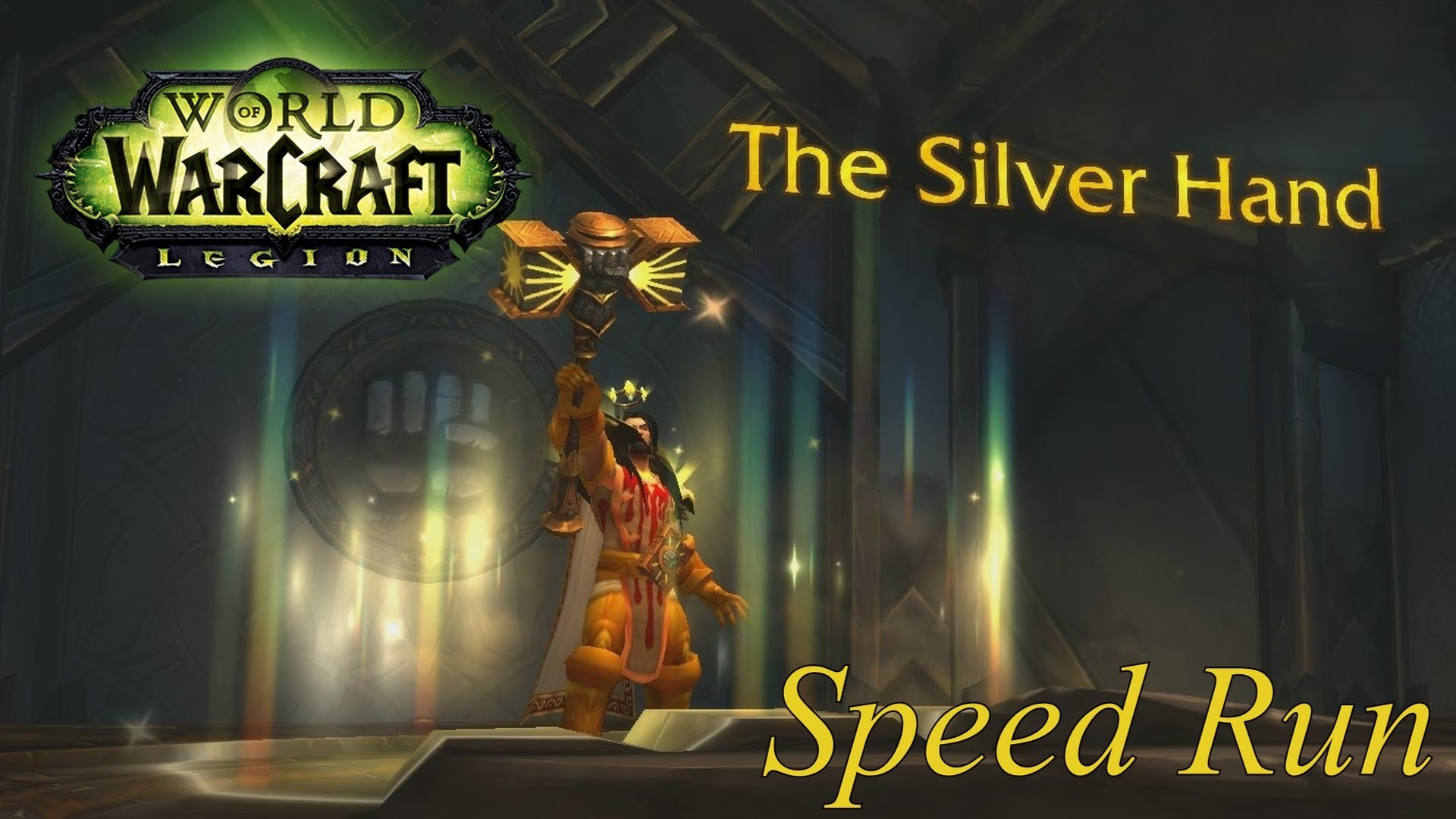 Res: 1920x1080, WoW Legion Holy Paladin Artifact Quest Speedrun: Legion Preparation (4x  Speed)