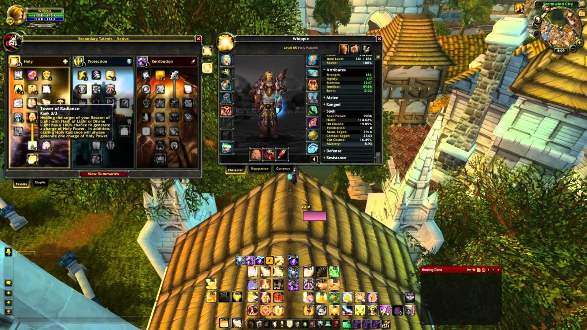 Res: 1920x1080, Cataclysm 4.3 Holy Paladin Talent Tree Guide - World of Warcraft