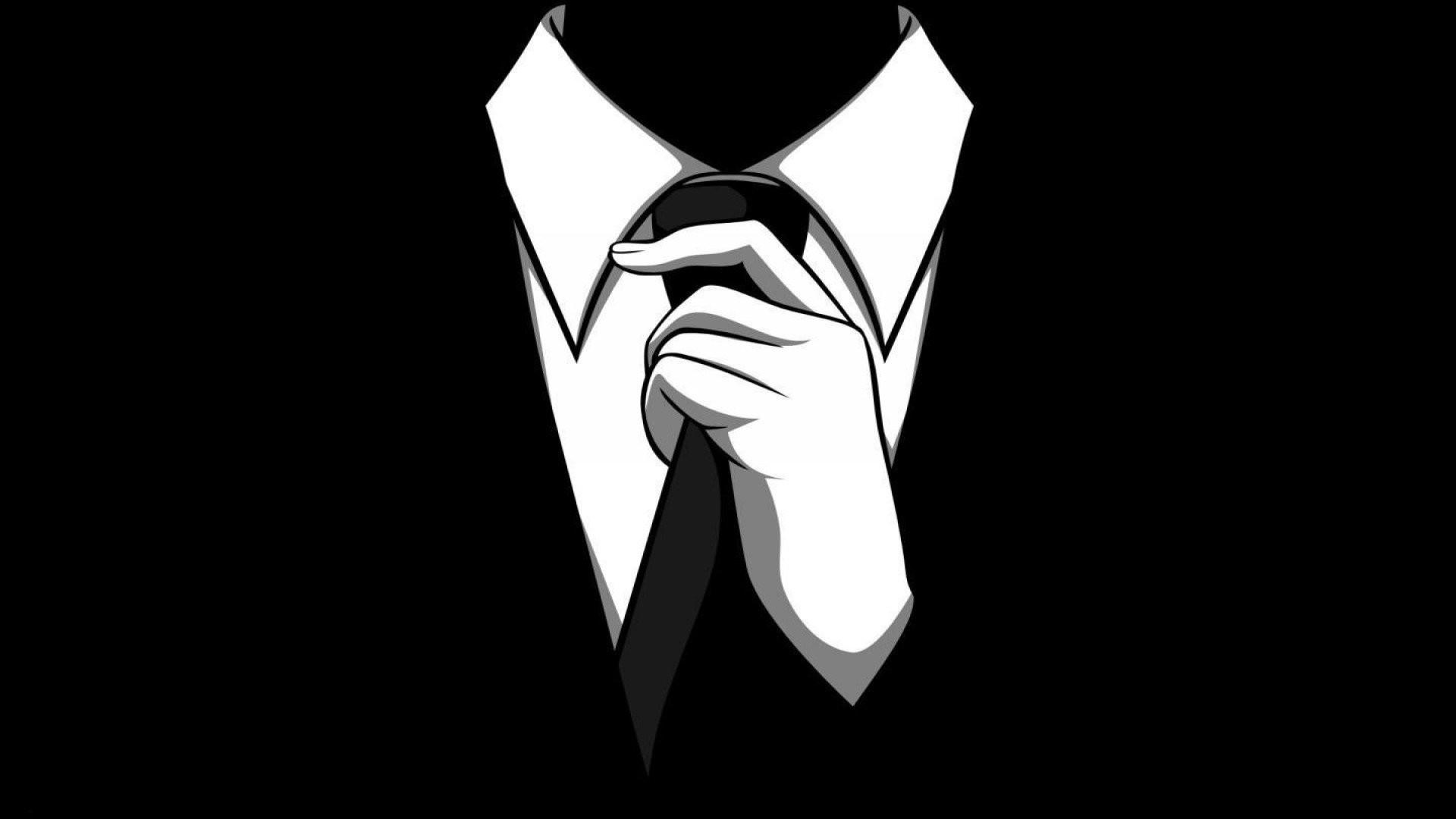 Res: 1920x1080, abstract anonymous barney stinson dark men noir scary slender man tie