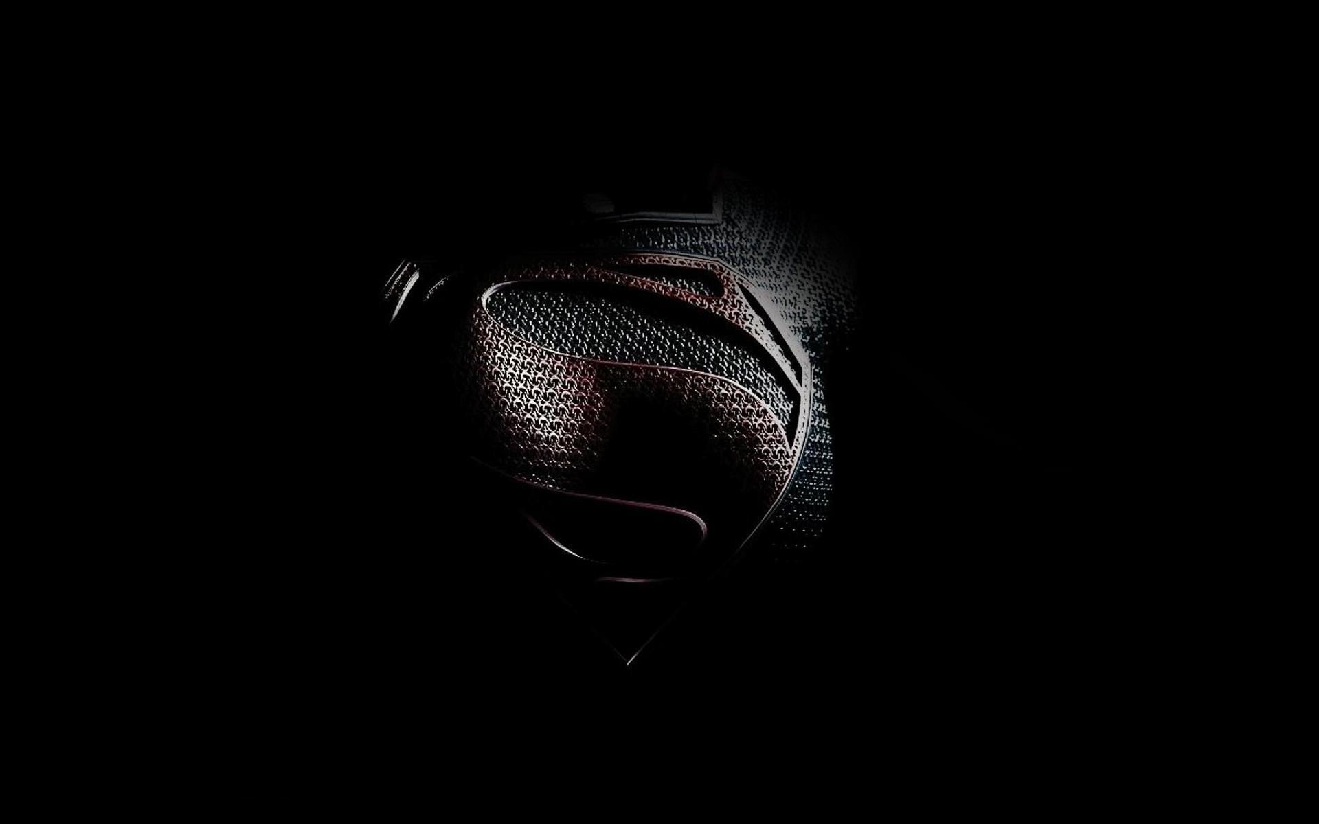 Res: 1920x1200, Black minimalistic movies Superman Man of Steel (movie) wallpaper |   | 301966 | WallpaperUP