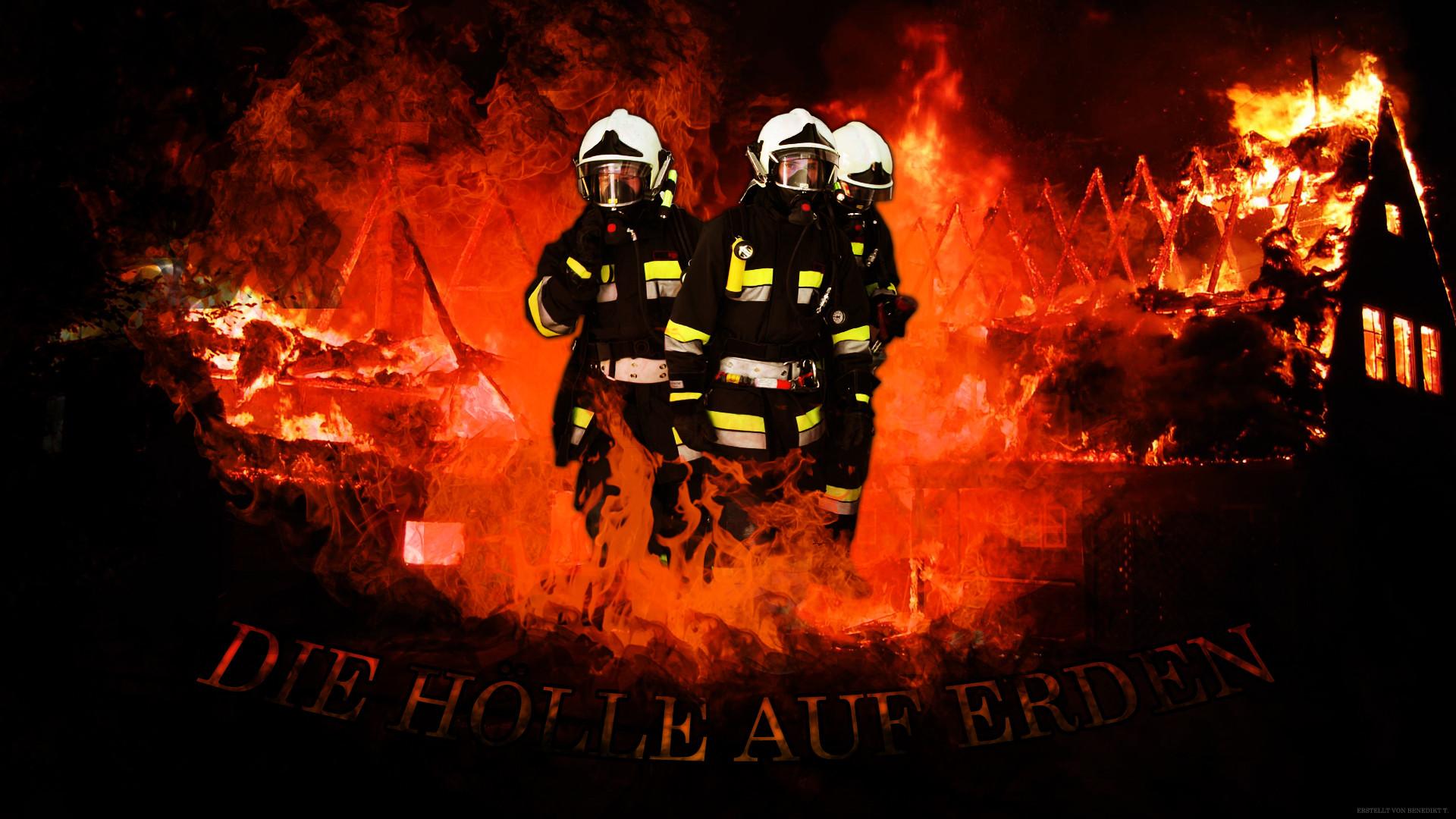 Res: 1920x1080, Firefighter Germany Wallpaper Feuerwehr by DeNite93
