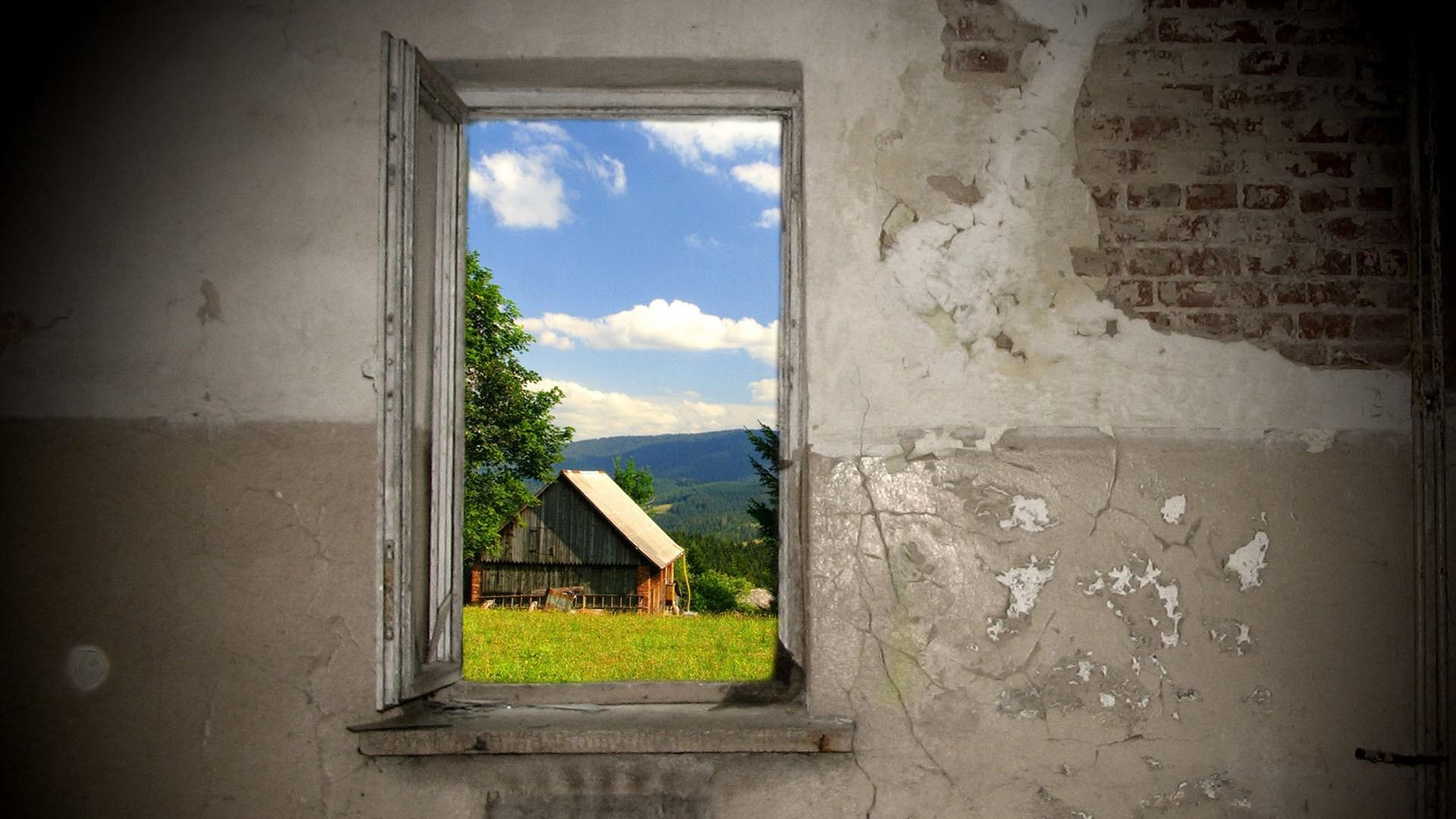 Res: 1920x1080, Man Made - Window Wallpaper
