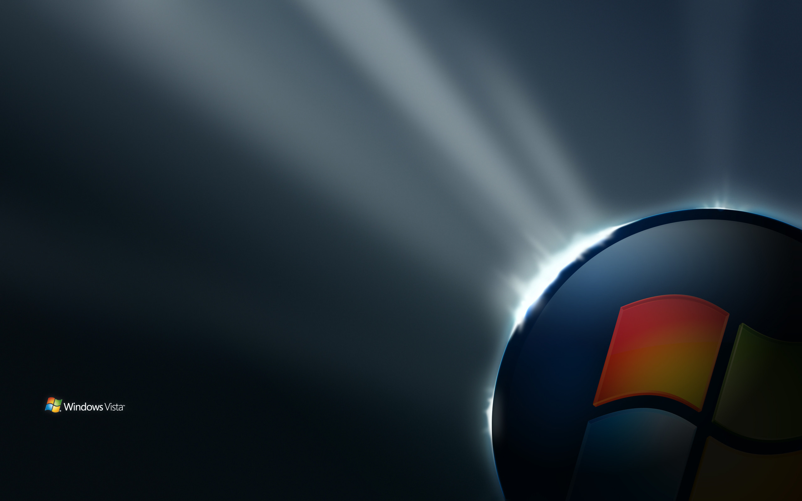 Res: 2560x1600, ... Fantastic Background Wallpapers: Windows Vista PC Images ...