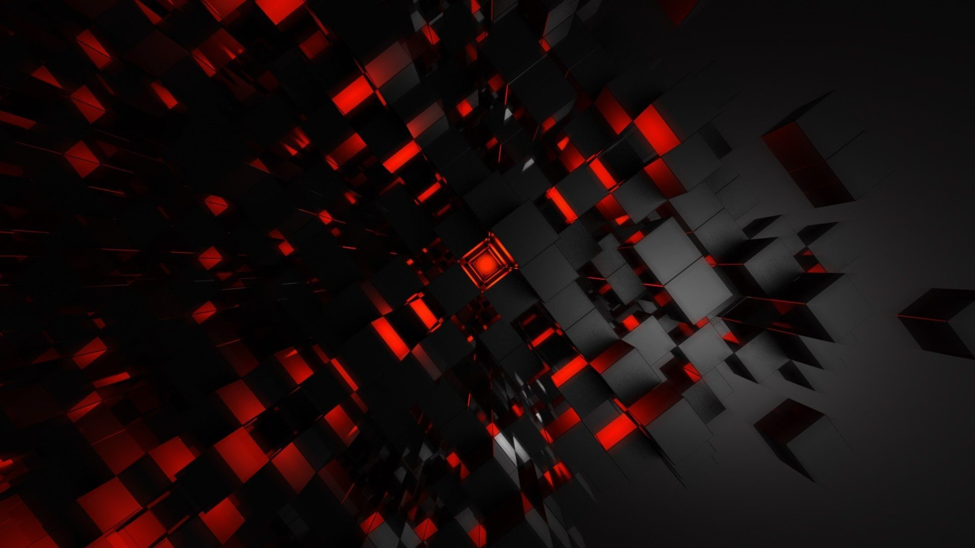 Res: 1920x1080, Red And Black Abstract Wallpaper Inside