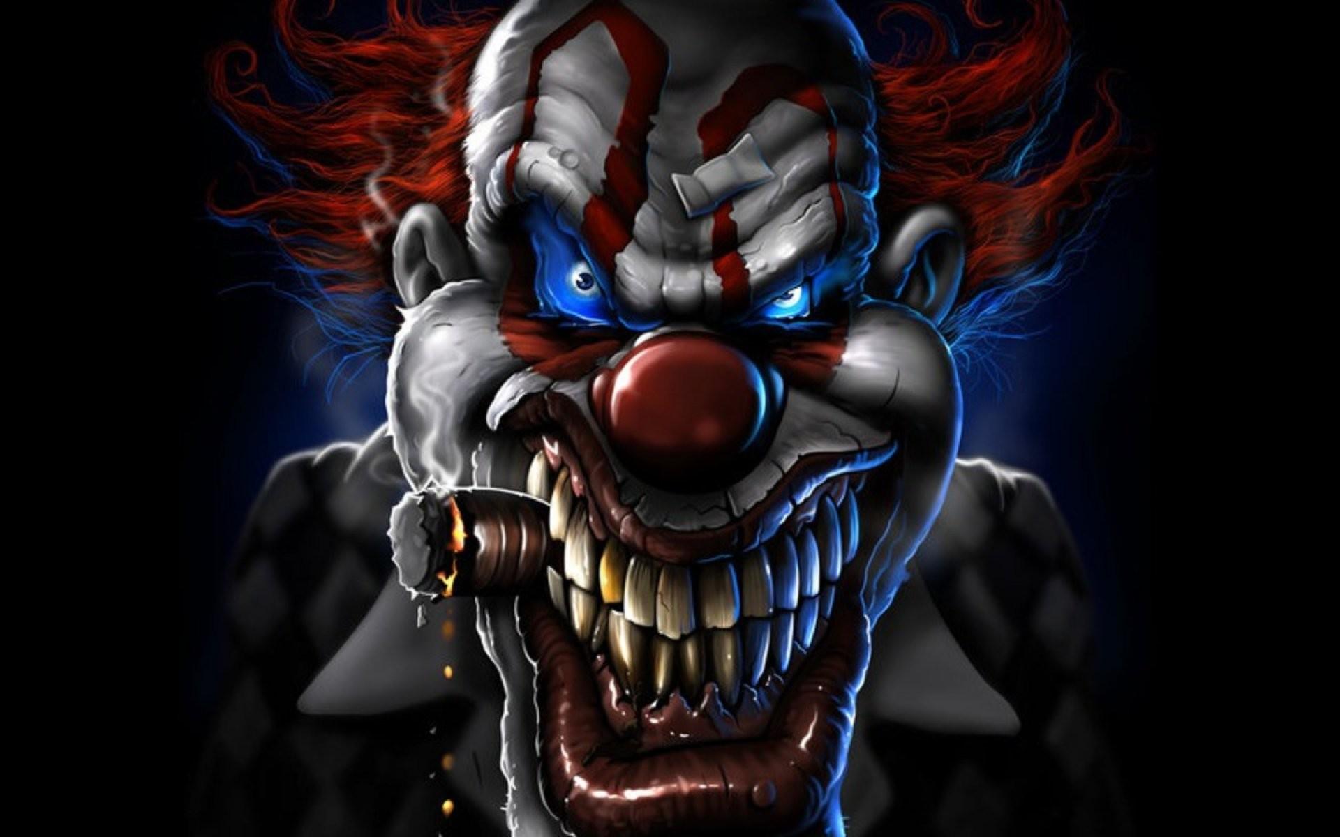 Res: 1920x1200, Dark horror evil clown art artwork f wallpaper |  | 693572 |  WallpaperUP