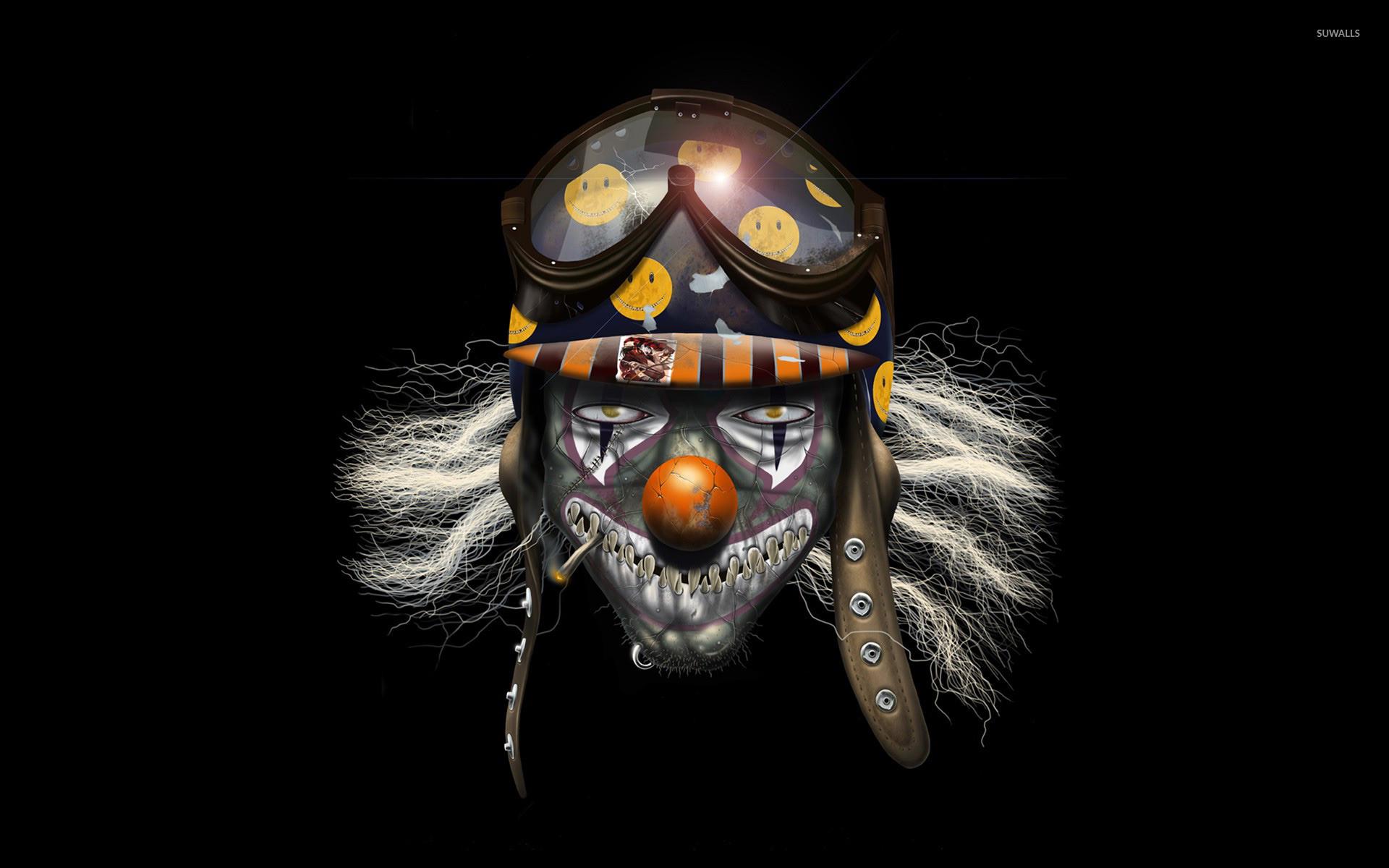 Res: 1920x1200, Evil clown soldier wallpaper  jpg