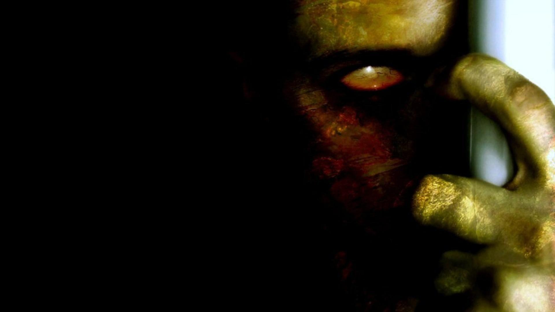 Res: 1920x1080, zombie shadowed horror fantasy scary art hd wallpaper - (#22860 .
