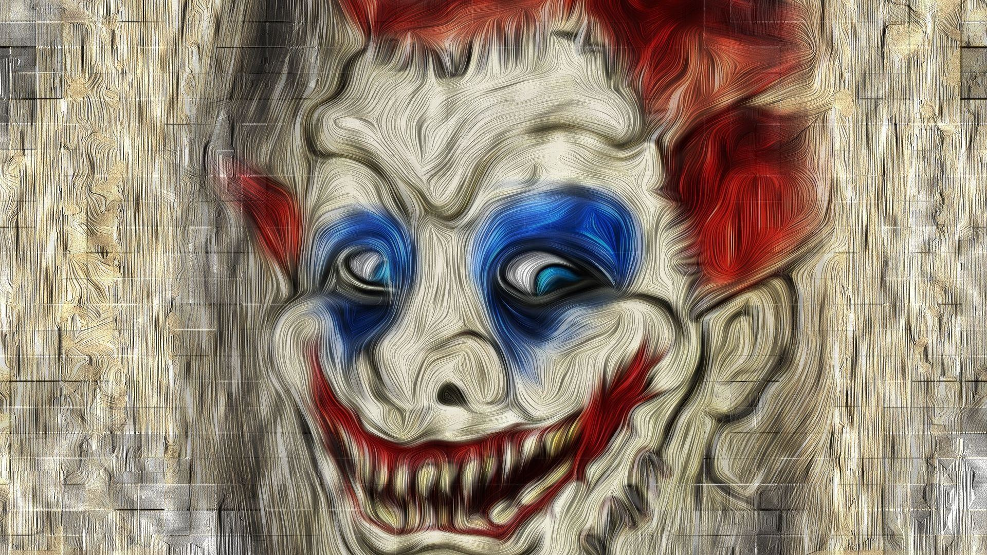 Res: 1920x1080, Scary clown face