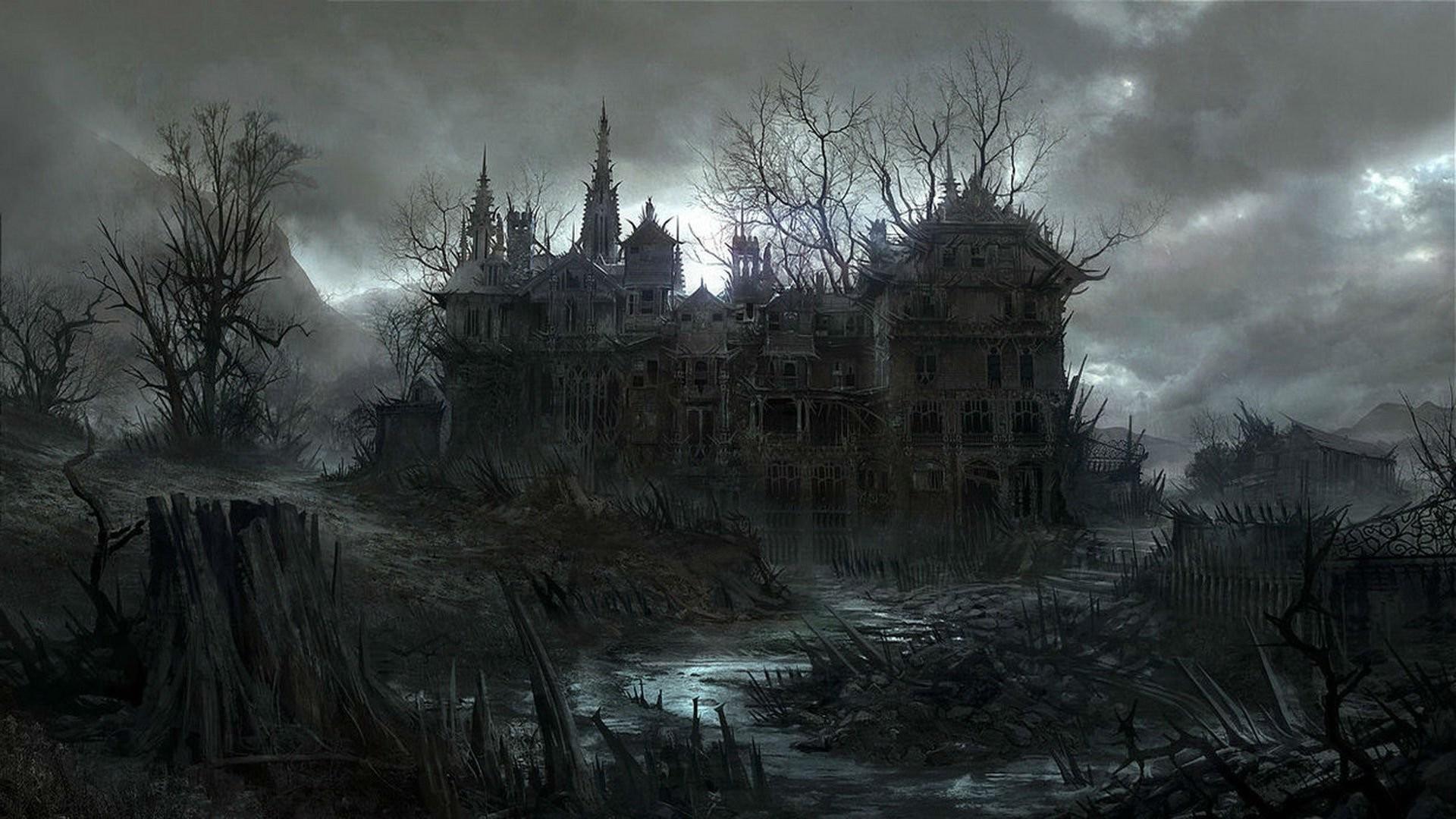 Res: 1920x1080, Spooky ...