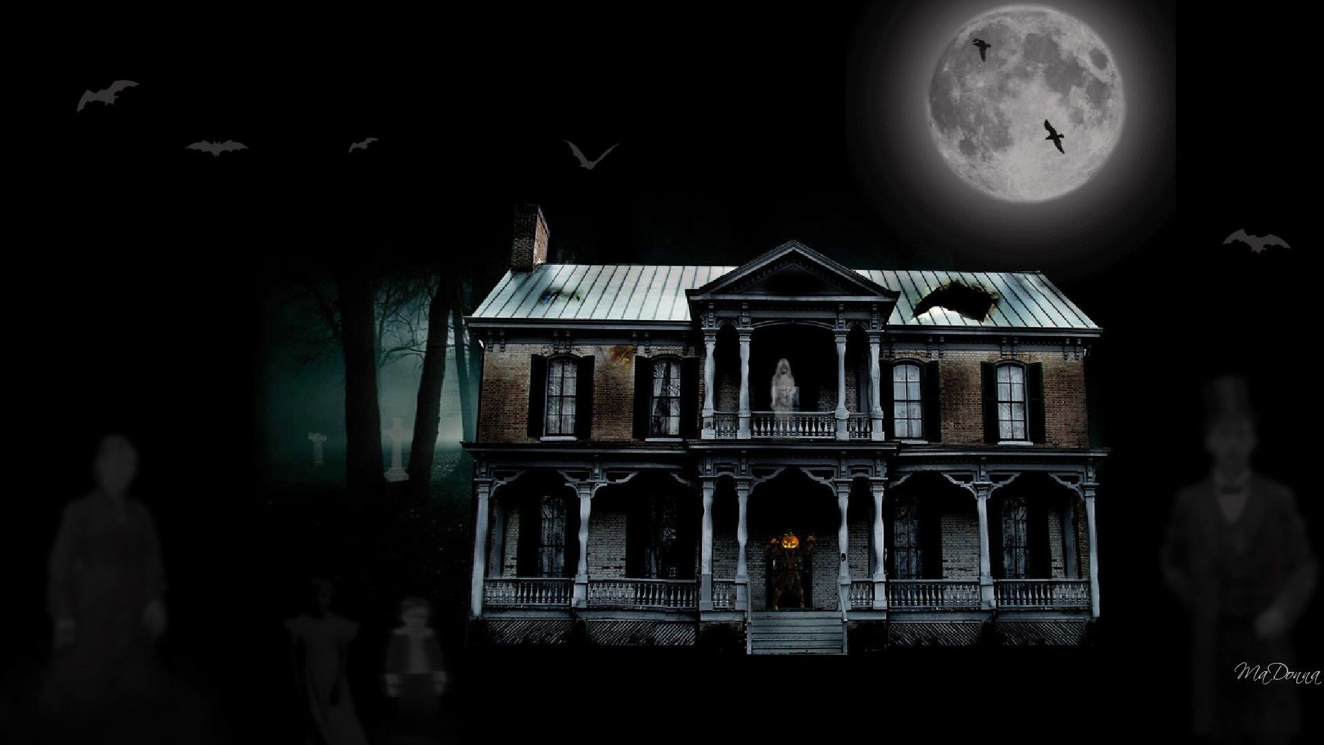 Res: 1920x1080, creepy-halloween-backgrounds-and-scary-wallpapers