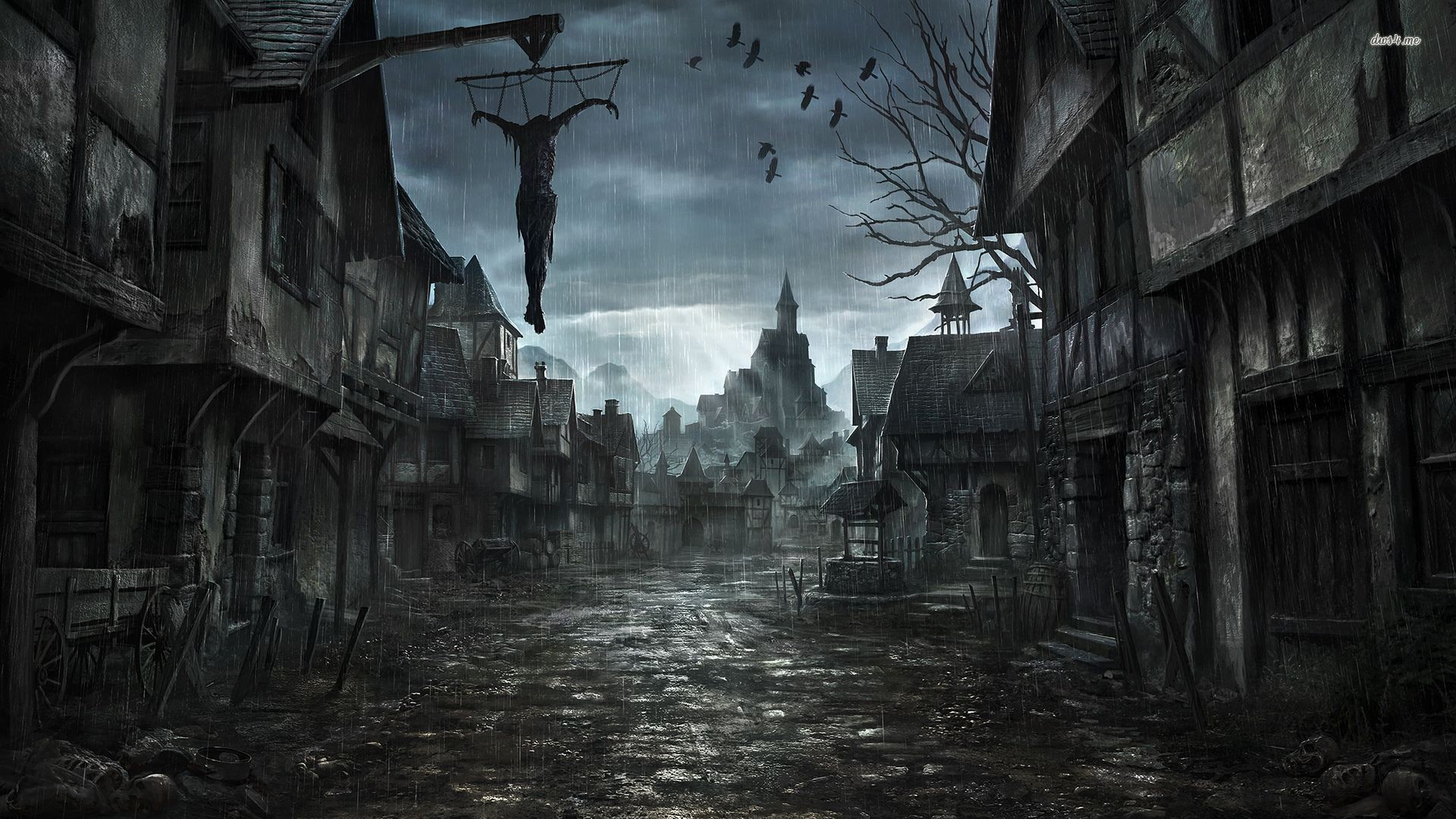 Res: 1920x1080, Top Scary Night Wallpapers