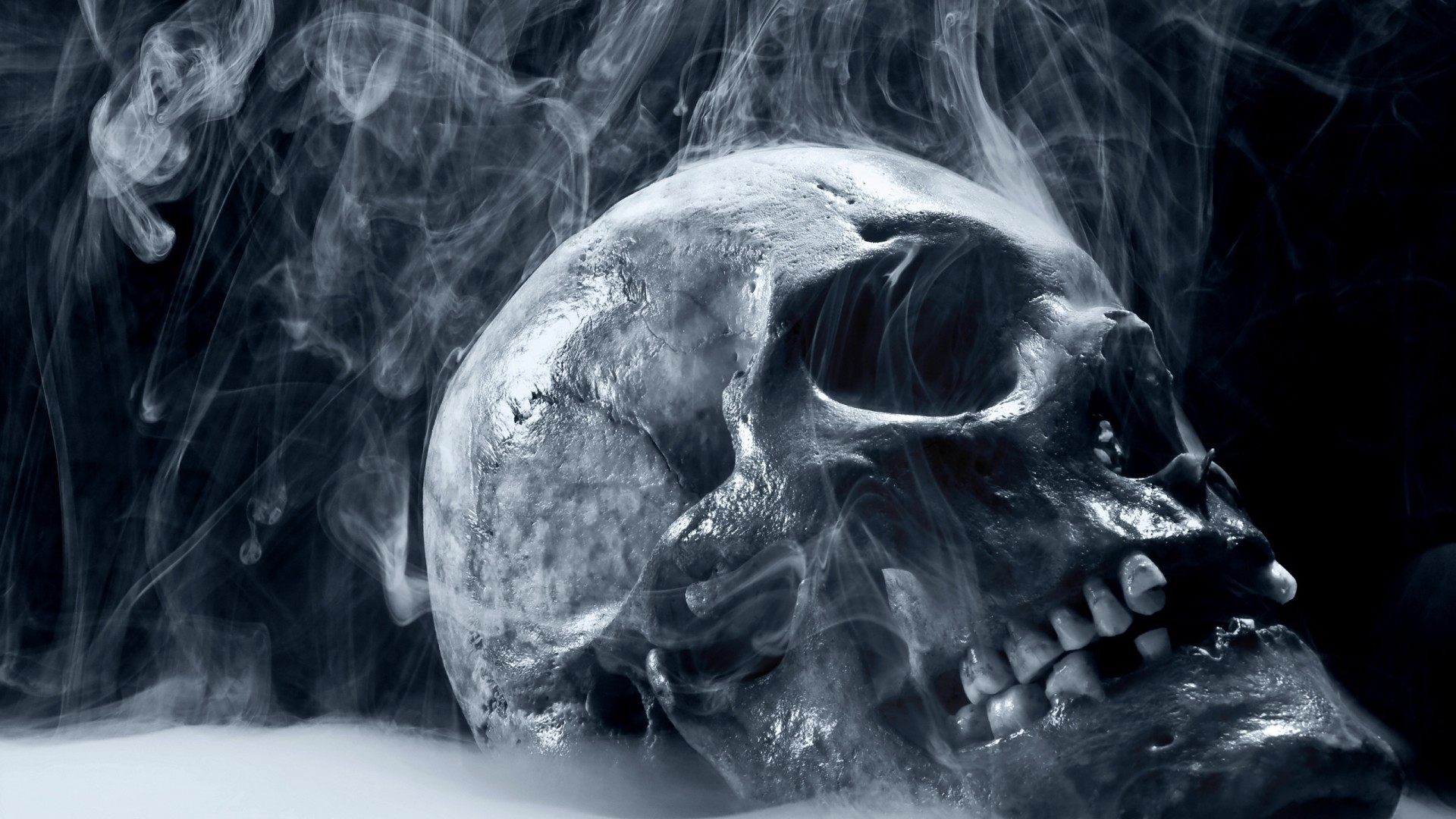 Res: 1920x1080,  Scary Skull Wallpapers For Desktop 1920×1080 #22746 HD Wallpaper  Res .