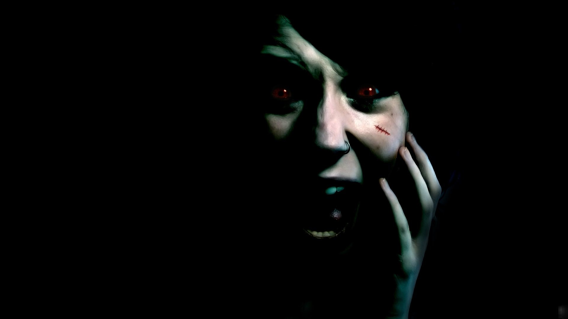 Res: 1920x1080, Scary Wallpapers Wallpaper Cave - HD Wallpapers