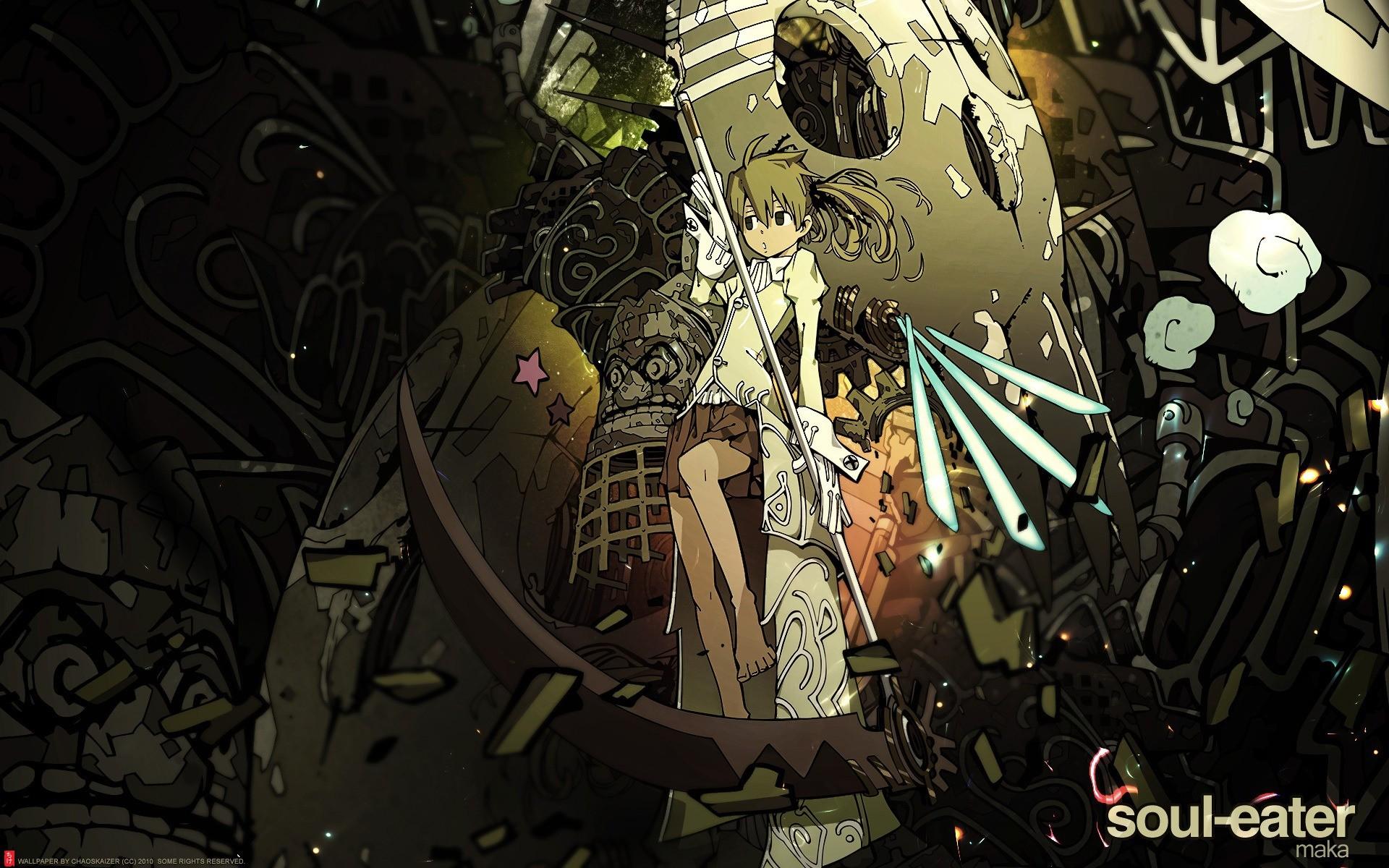 Res: 1920x1200, Anime - Soul Eater Wallpaper