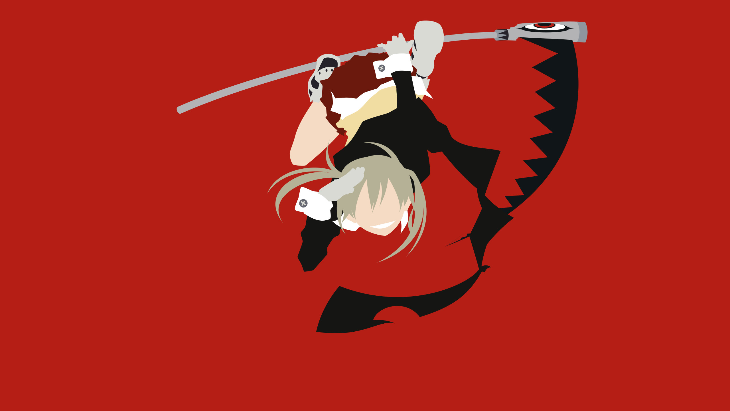 Res: 2560x1440, ... Soul Eater - Maka Albarn minimalism wallpaper by Carionto
