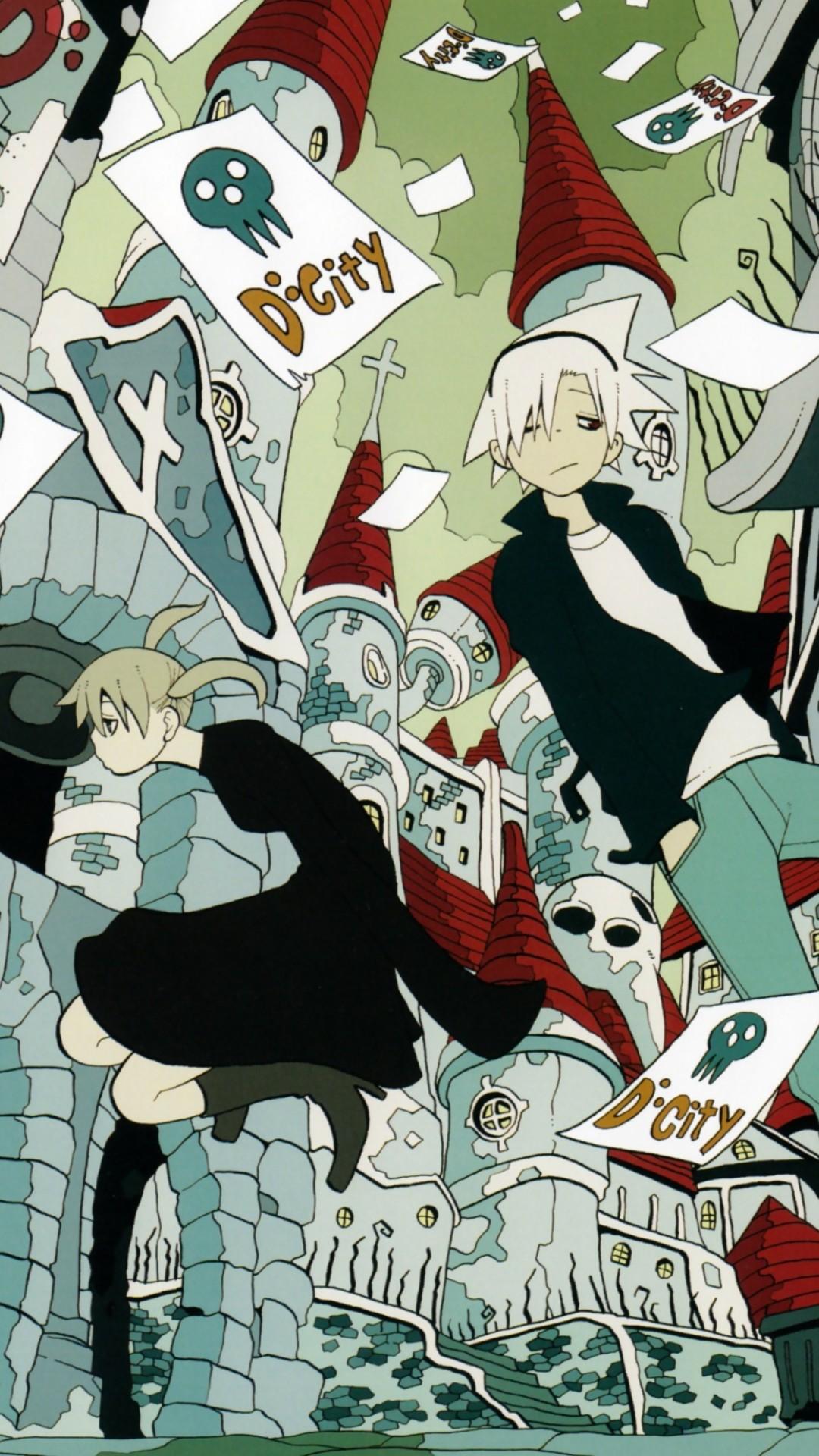 Res: 1080x1920, Anime / Soul Eater () Mobile Wallpaper