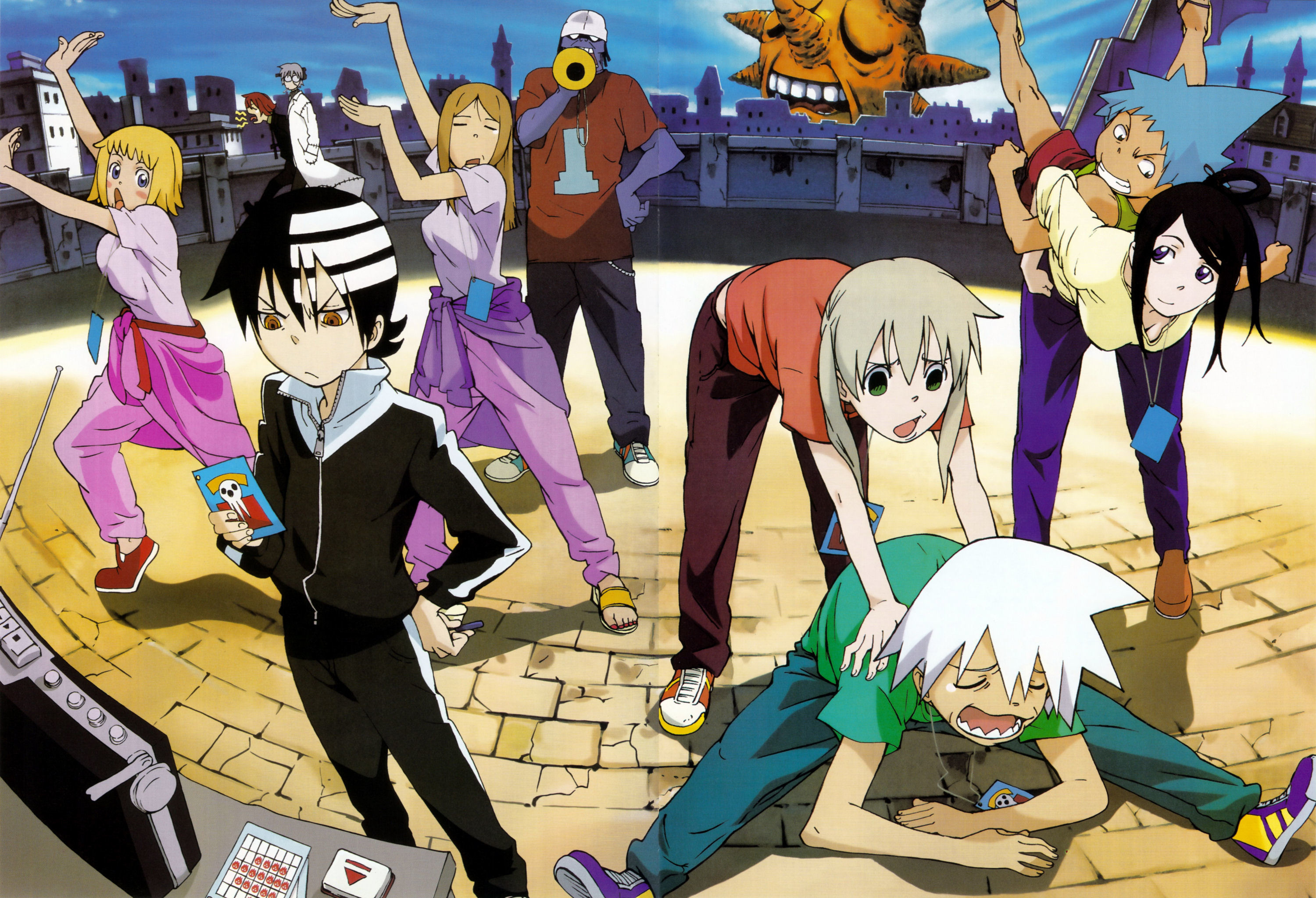 Res: 3000x2048, Soul Eater Character Full HD Wallpaper