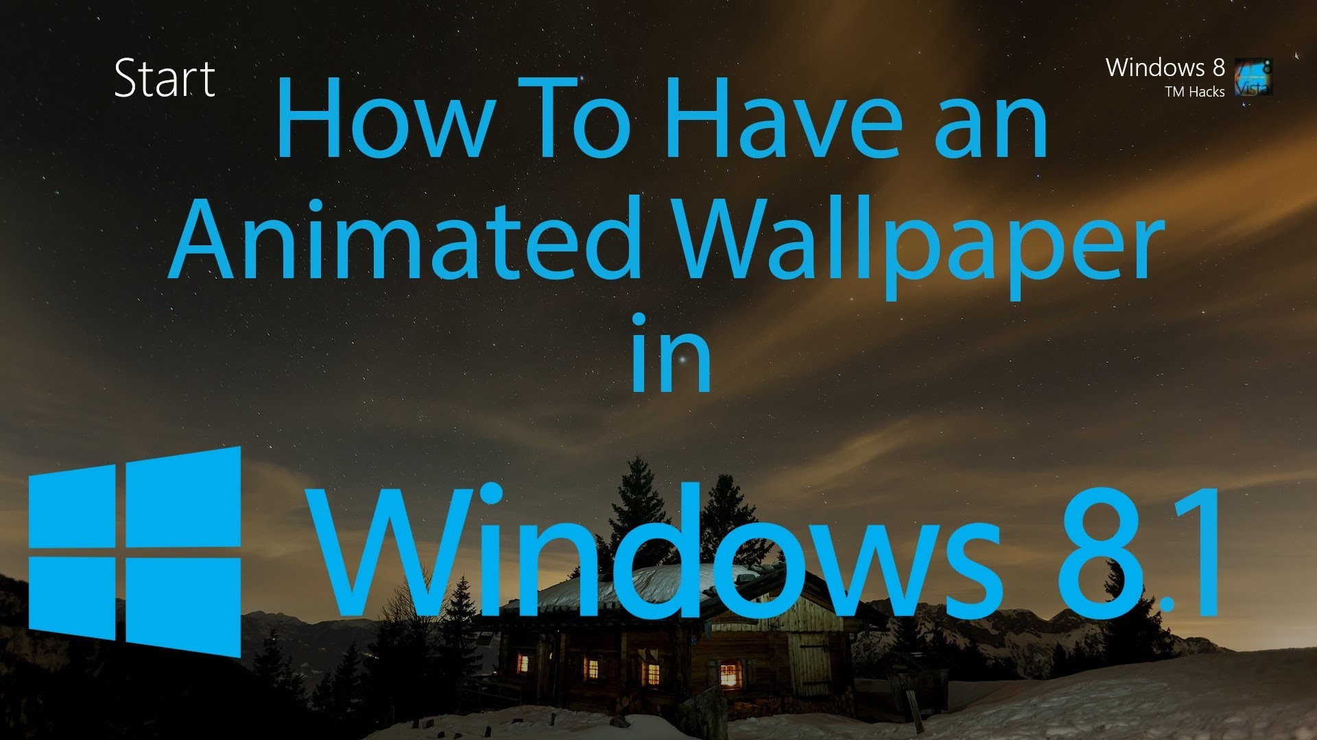 Res: 1920x1080, How To Have an Animated Wallpaper in Windows 81