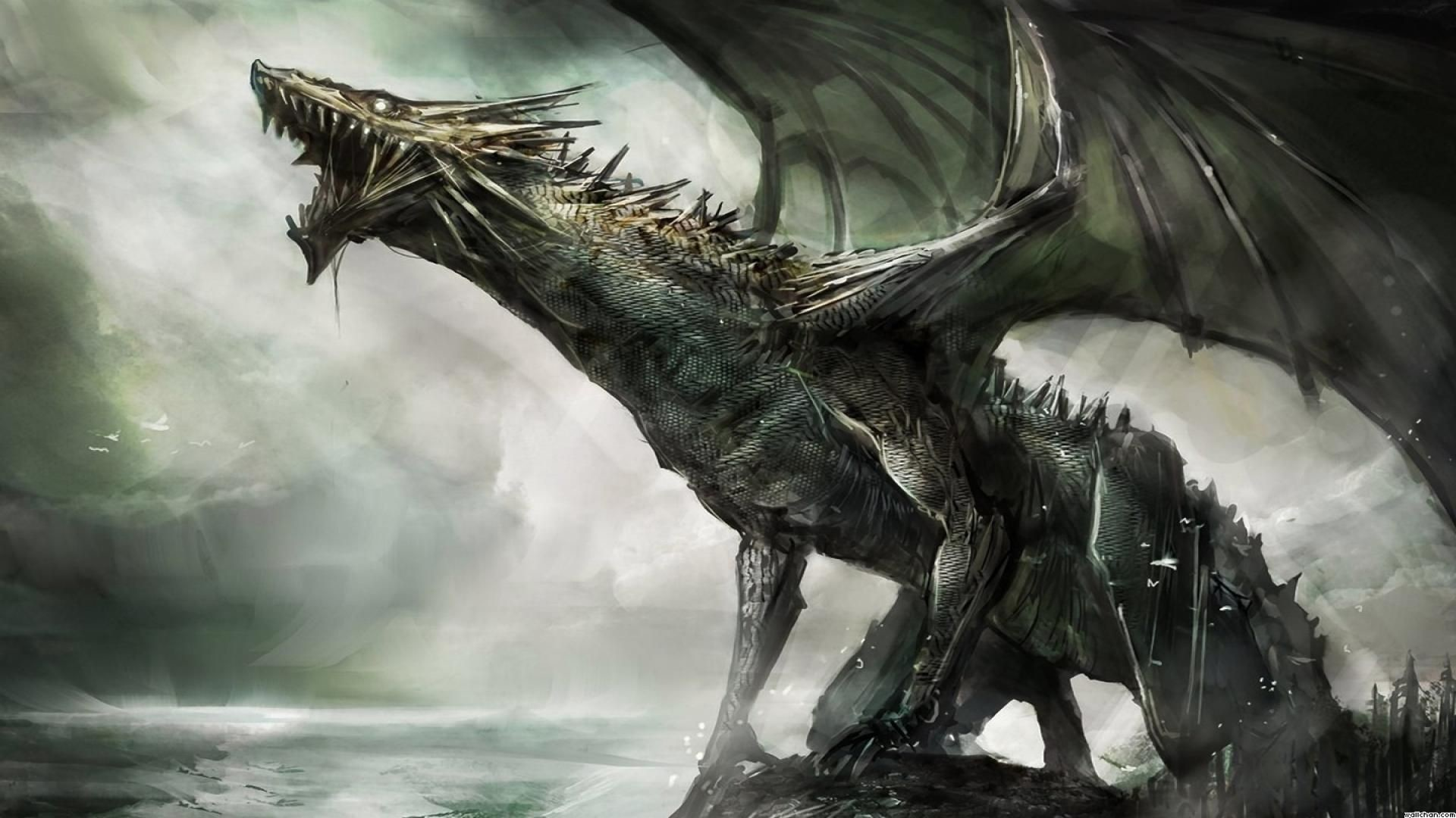 Res: 1920x1080, images-for-gt-cool-dragons-wallpaper-hd-awesome-