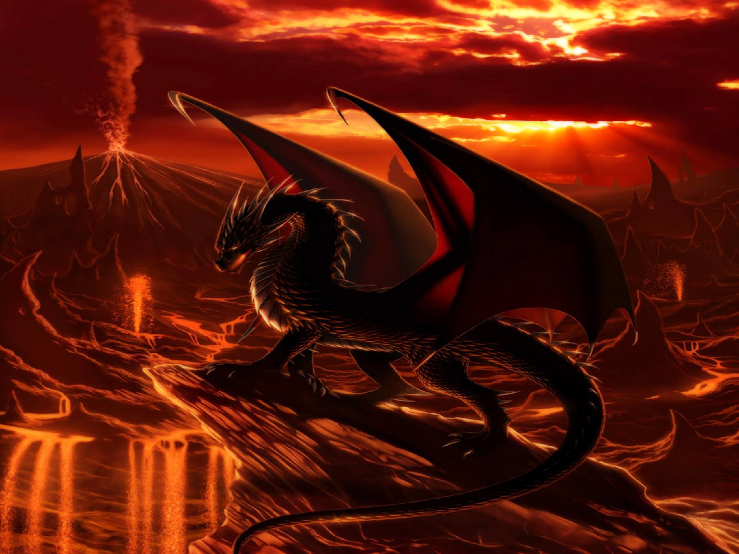 Res: 2560x1920, 1570 Dragon Wallpapers | Dragon Backgrounds